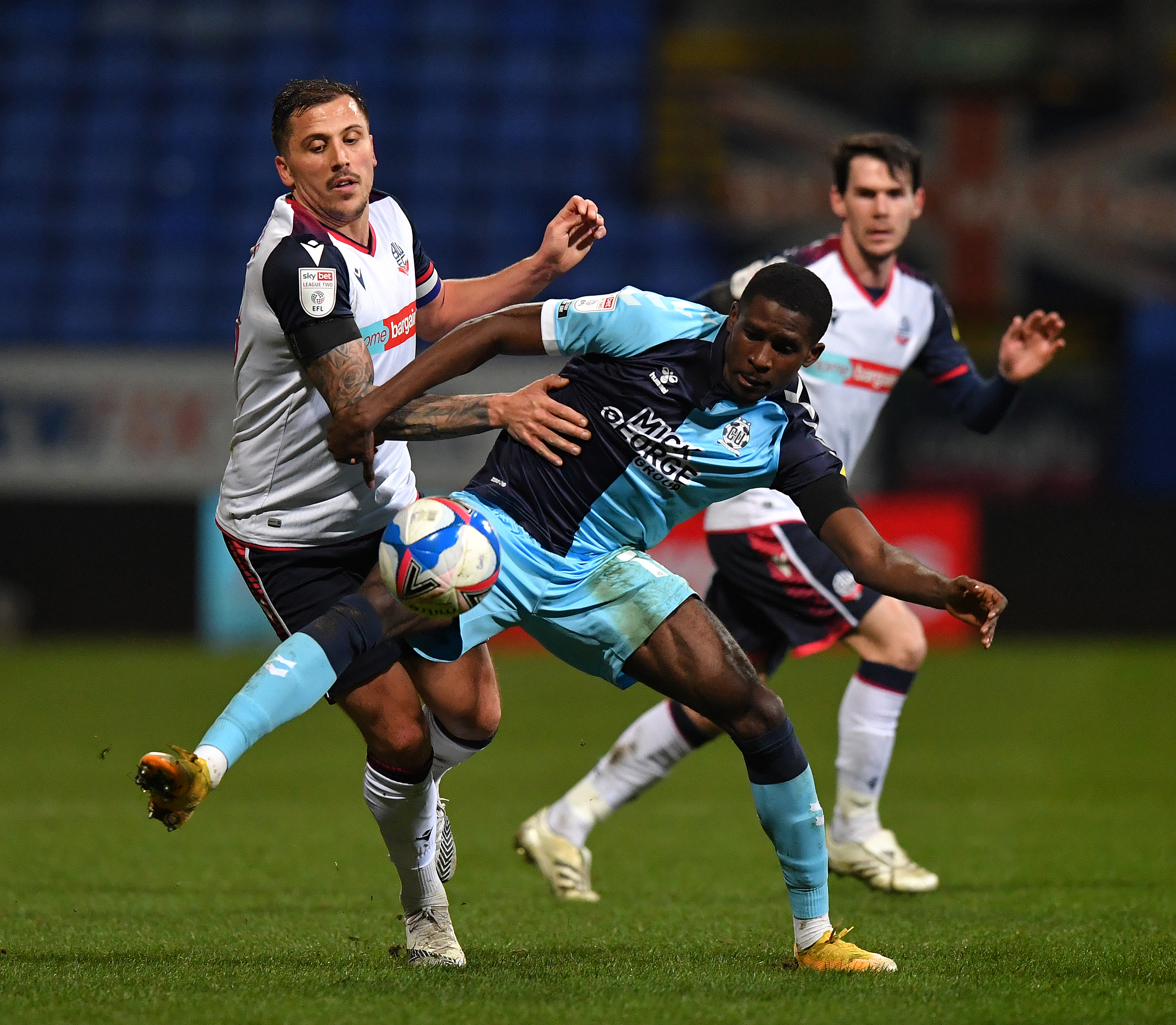 Bolton Wanderers v Cambridge United - Sky Bet League Two