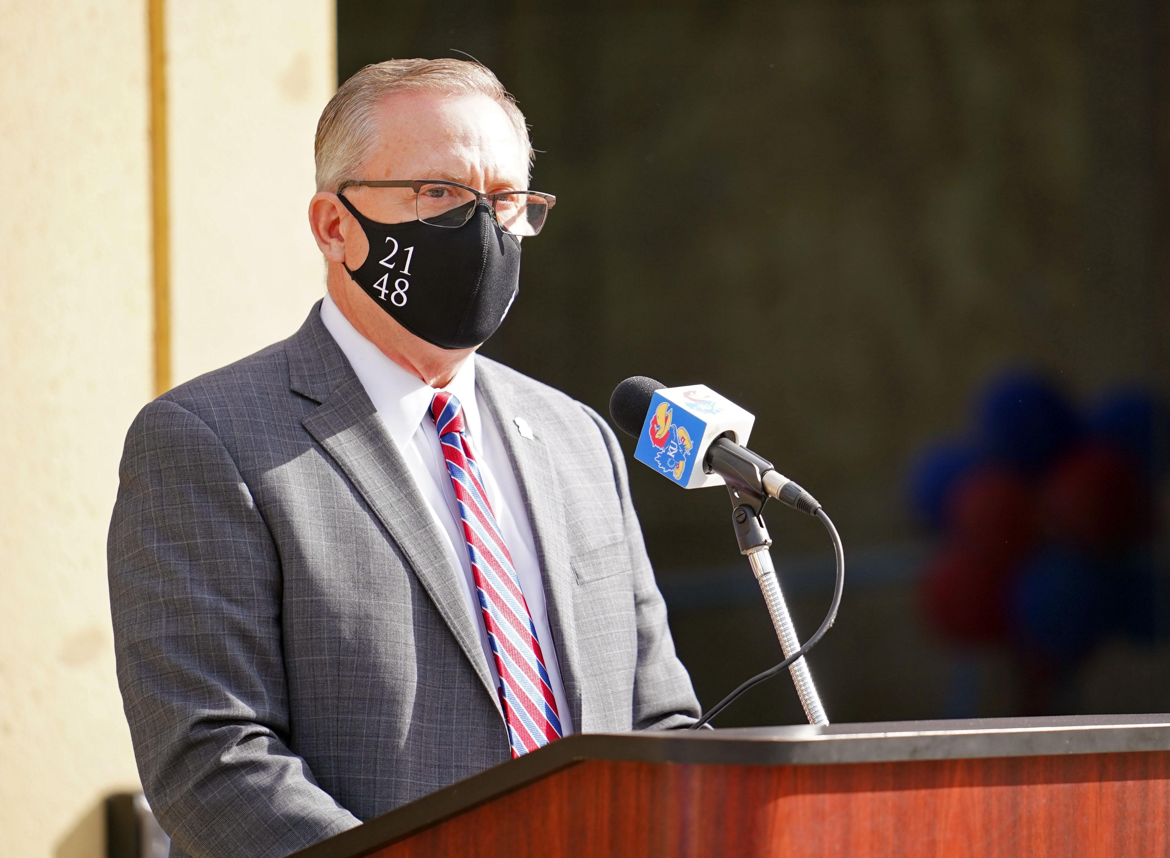 NCAA Football: Oklahoma State at Kansas