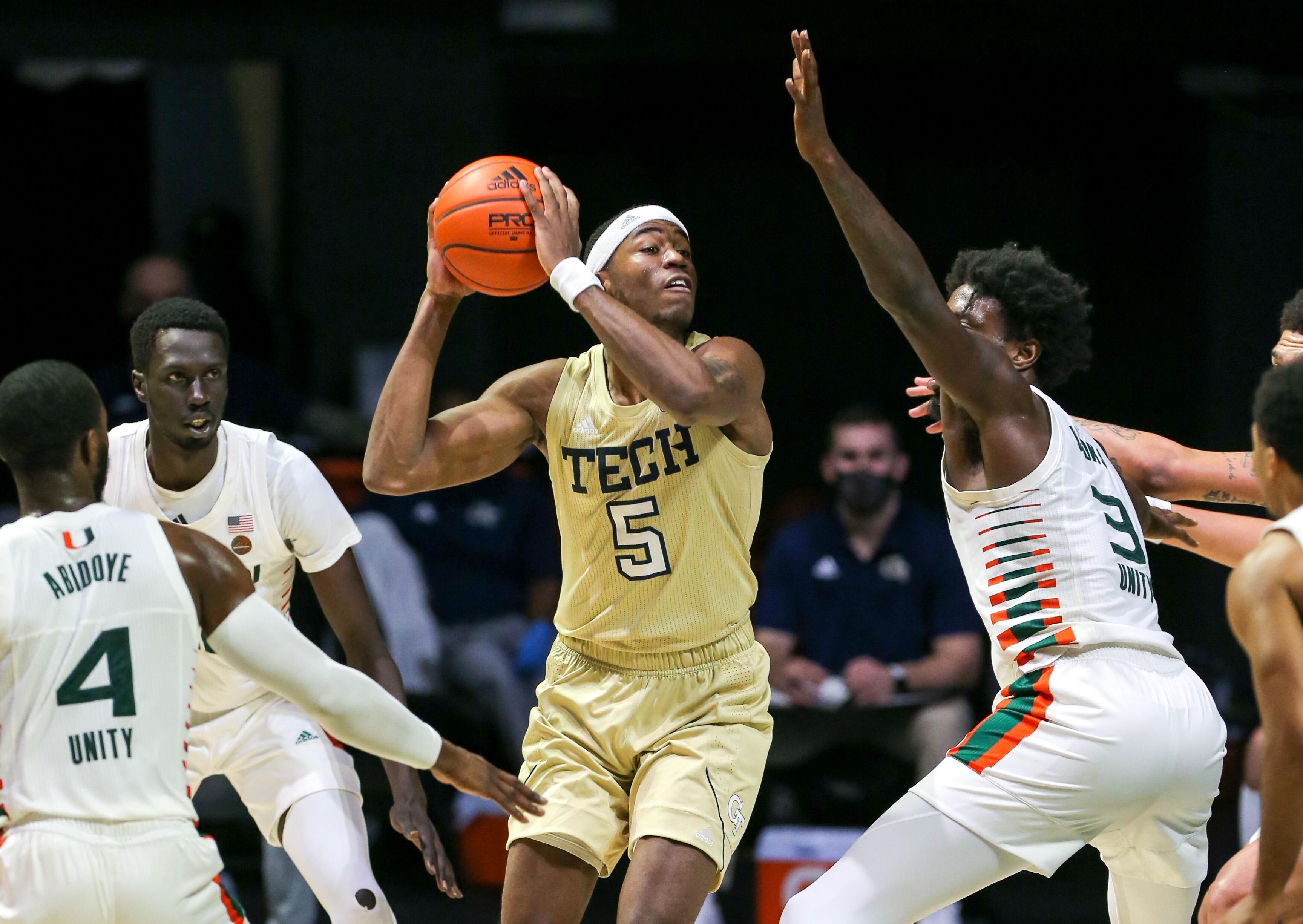 NCAA Basketball: Georgia Tech at Miami-Florida