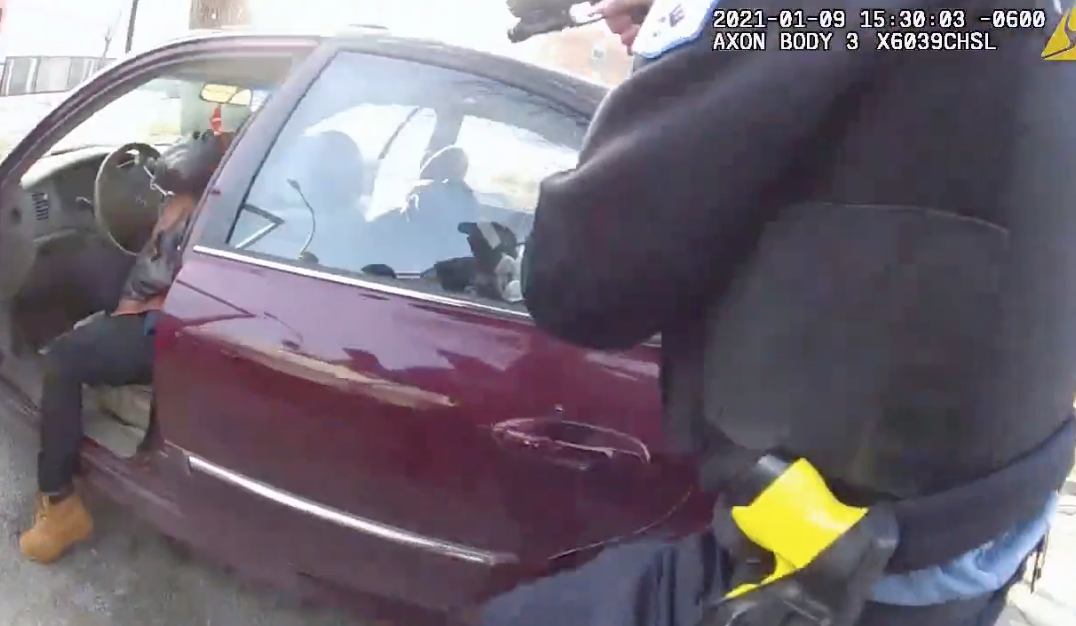 A video shows police shooting a woman during a Jan. 9, 2020, traffic stop in Lawndale.