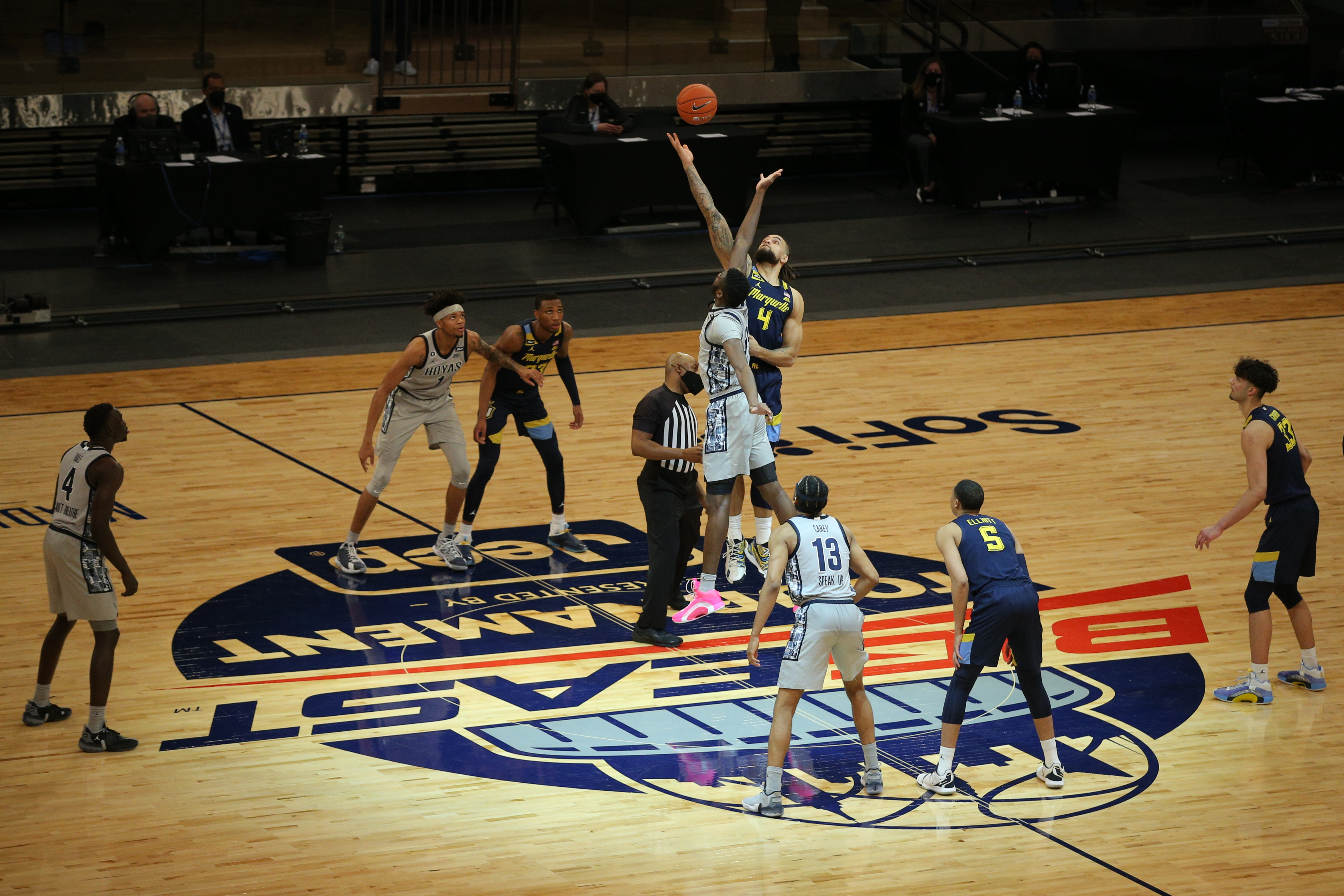 NCAA Basketball: Big East Conference Tournament-Georgetown vs Marquette