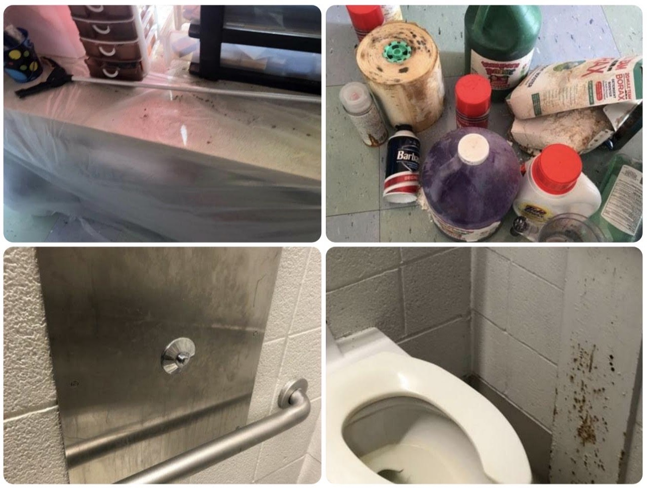 Unsanitary conditions have been reported by some Philadelphia teachers when they reported by to school March 2021.