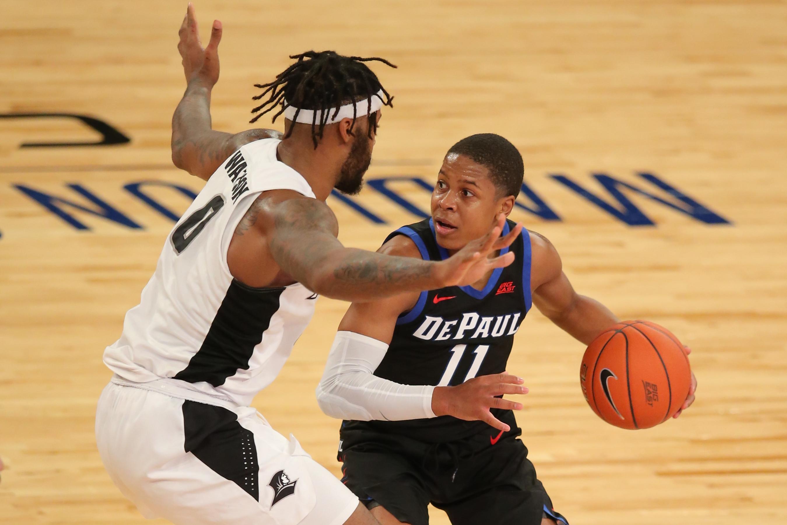 NCAA Basketball: Big East Conference Tournament-Providence vs DePaul