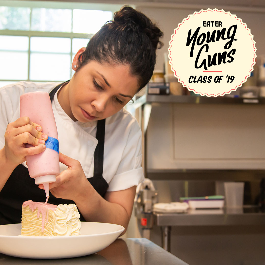 Claudia Martinez of Tiny Lou's is an Eater Young Gun, class of '19