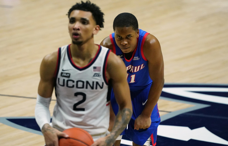 NCAA Basketball: DePaul at Connecticut