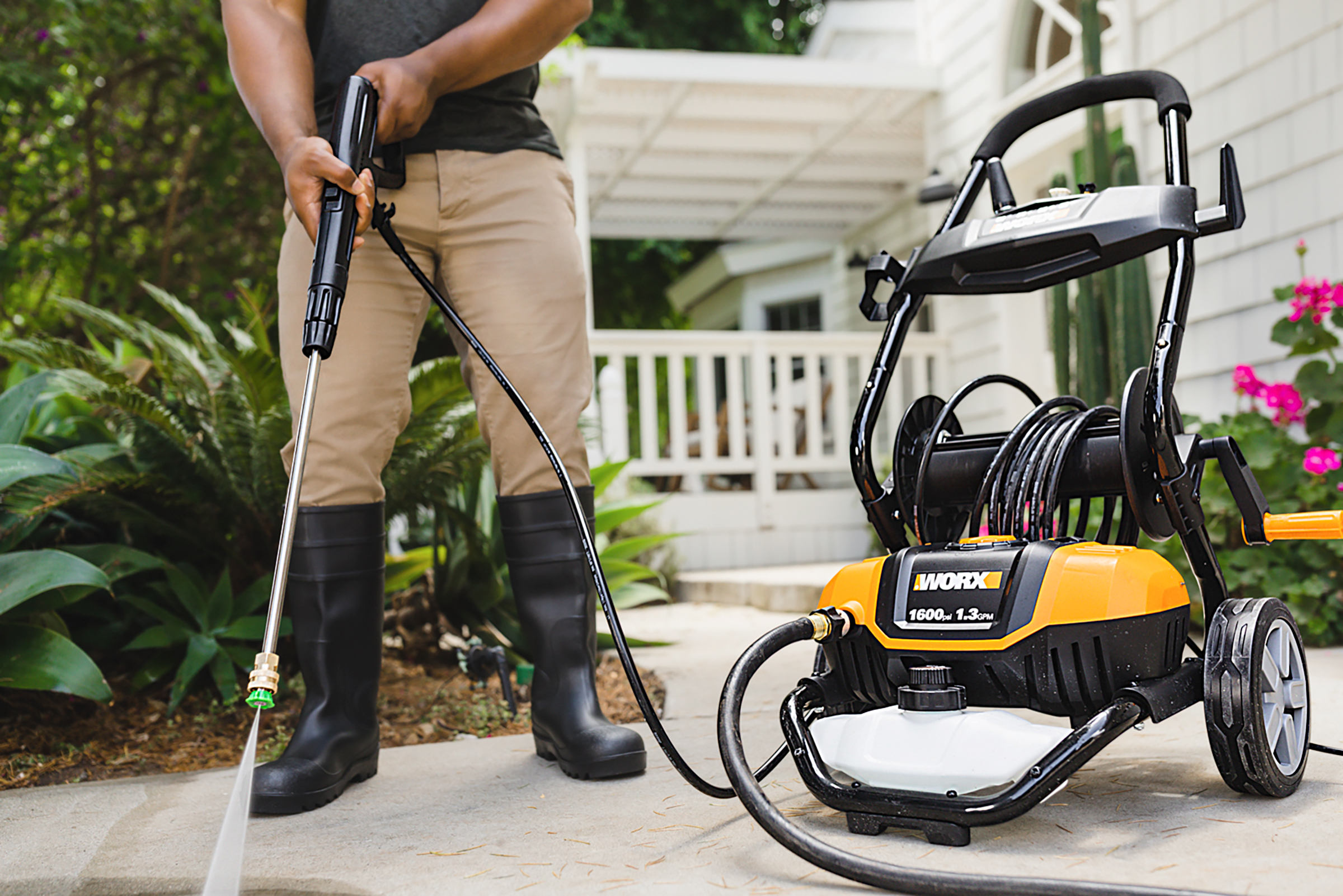 Spring 2021, What's New, pressure washer