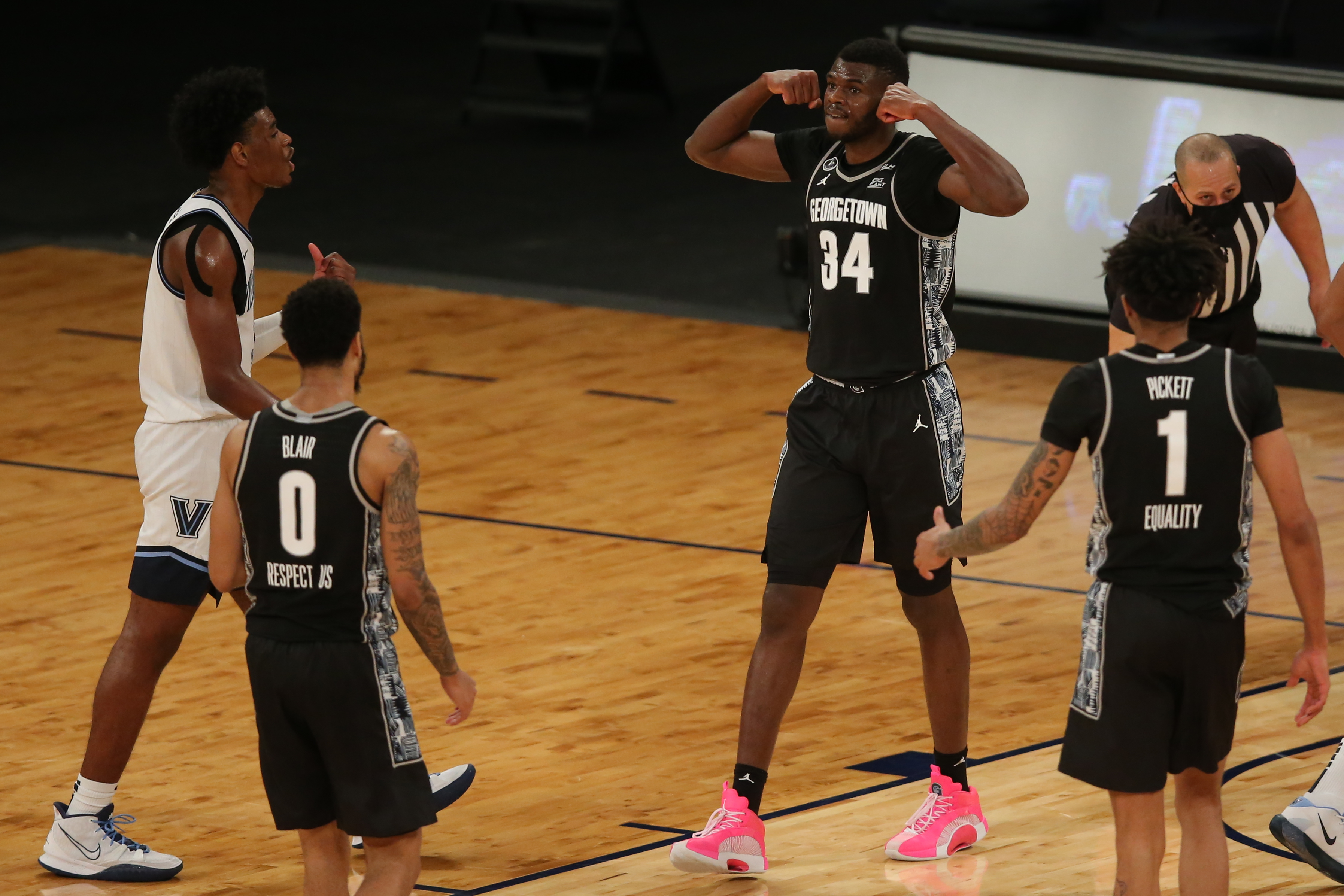 NCAA Basketball: Big East Conference Tournament-Villanova vs Georgetown