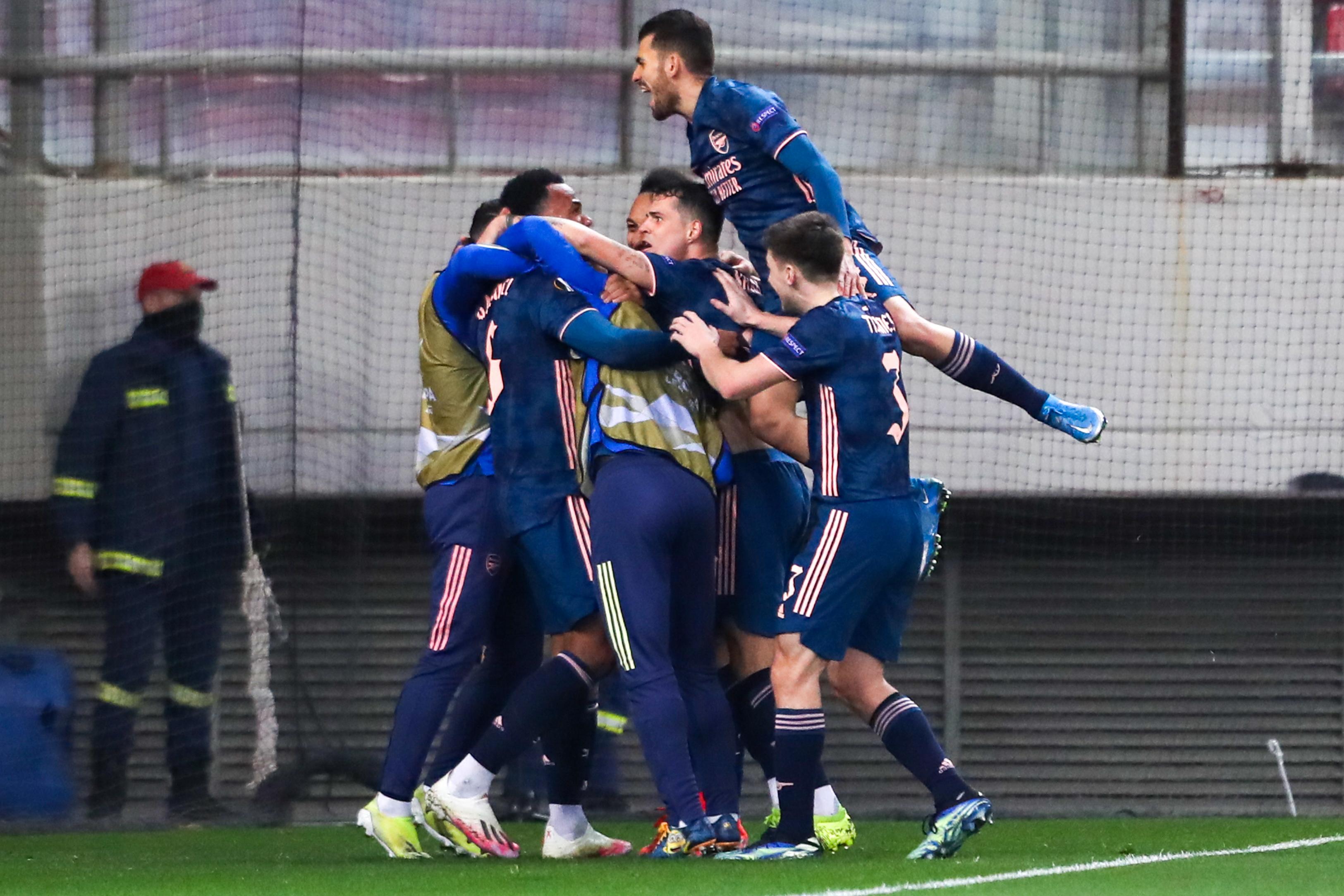 Olympiacos FC v Arsenal FC - UEFA Europa League