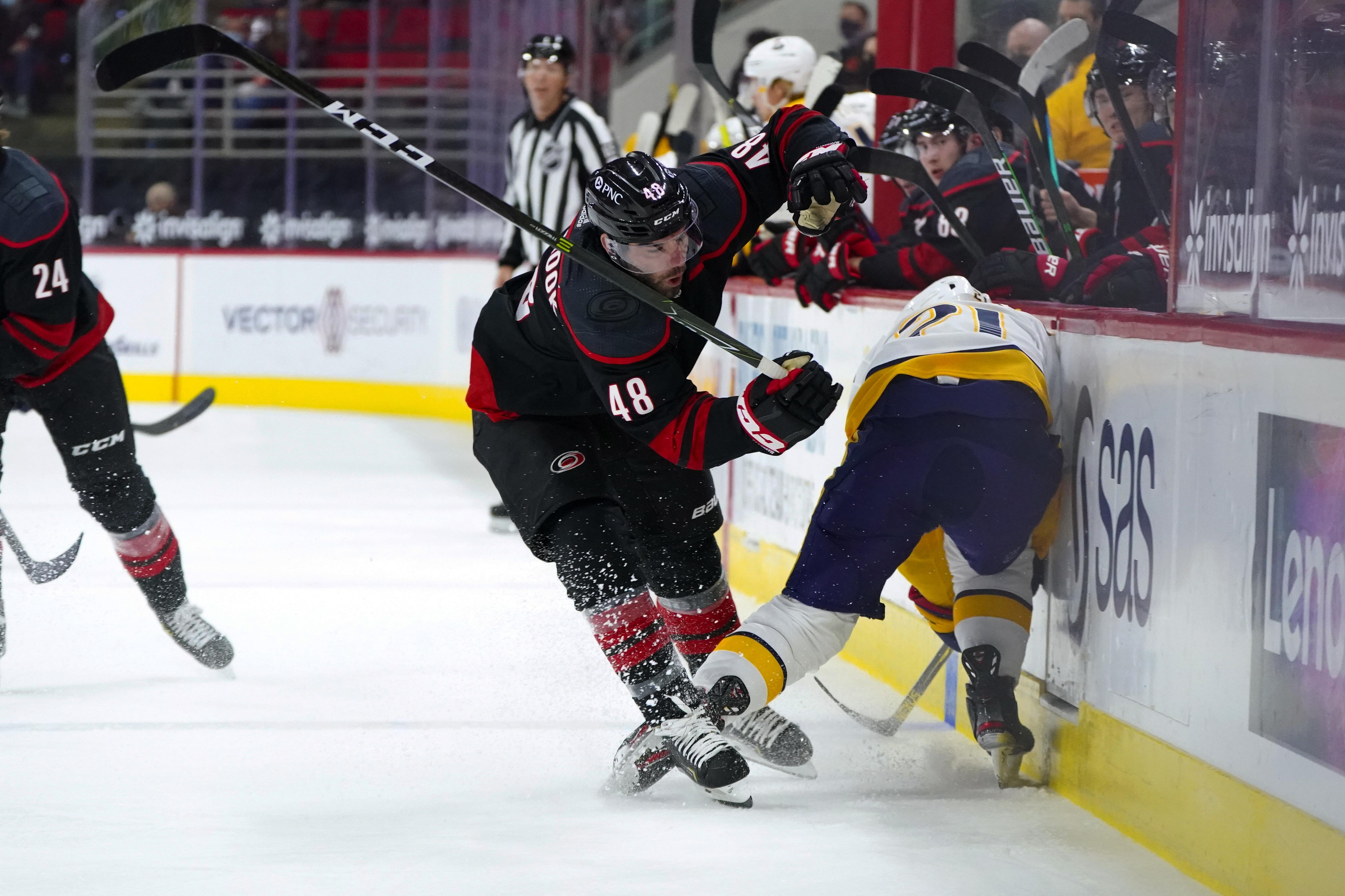 NHL: Nashville Predators at Carolina Hurricanes