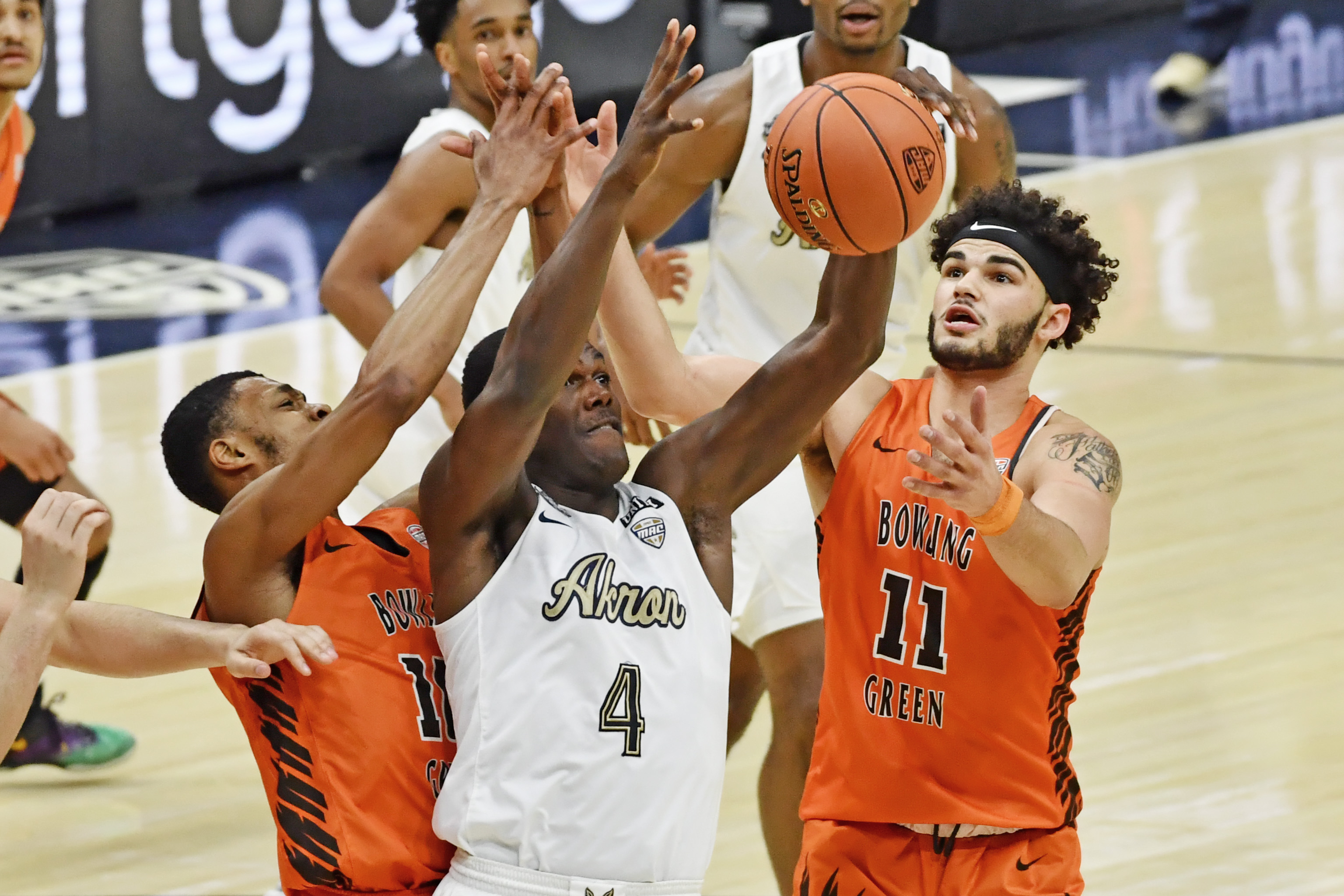 NCAA Basketball: MAC Conference Tournament - Akron vs Bowling Green State