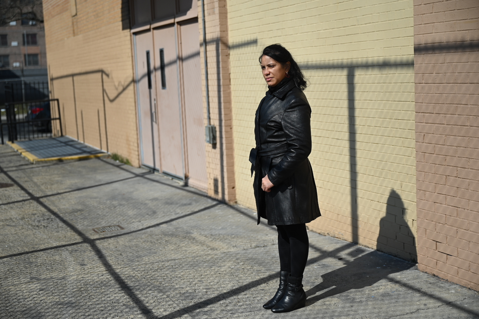 Yesenia Peralta is the principal of the Brooklyn Democracy Academy where Dez Ann Romain, the former principal, died from COVID in the early months of the pandemic.