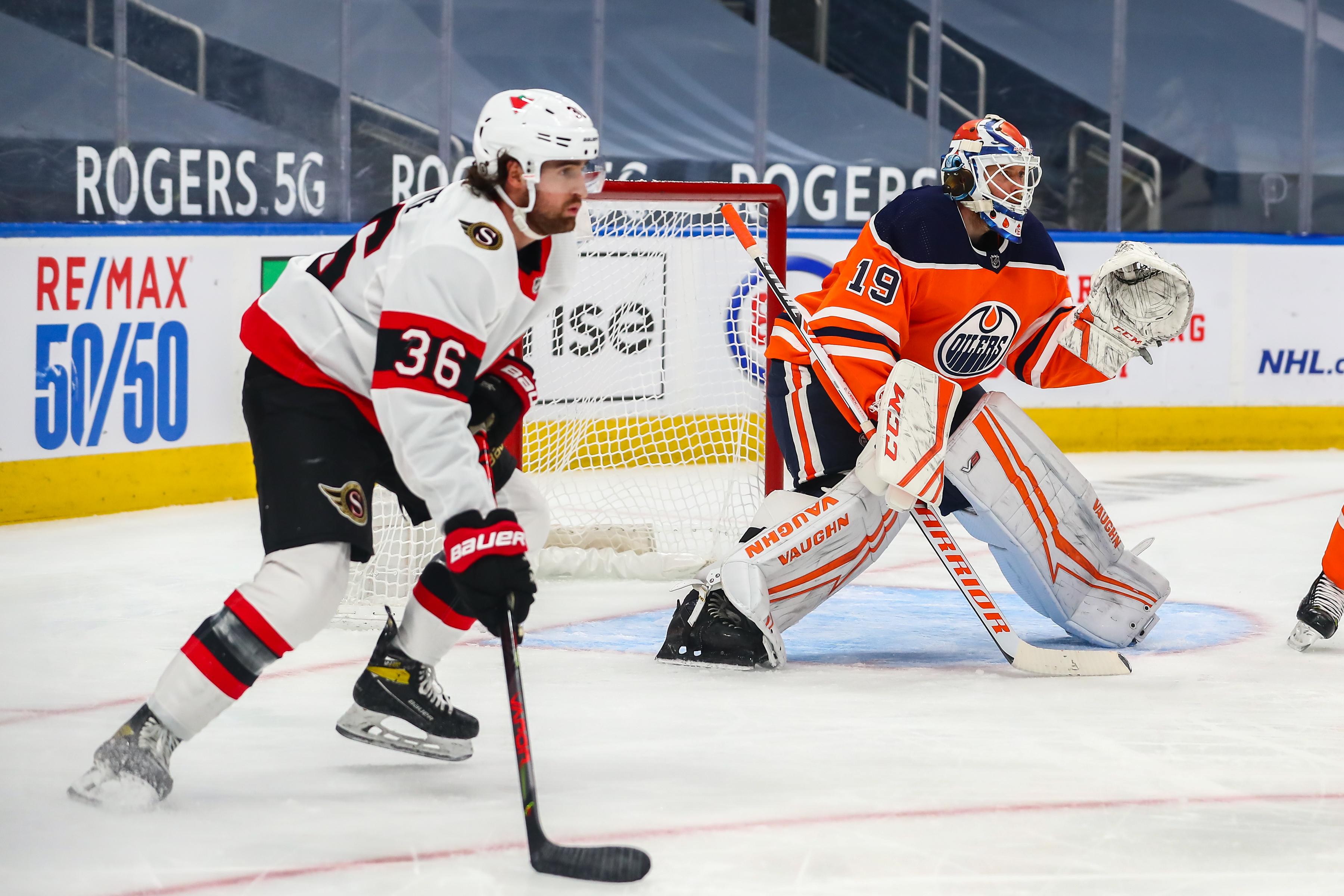 NHL: MAR 08 Senators at Oilers