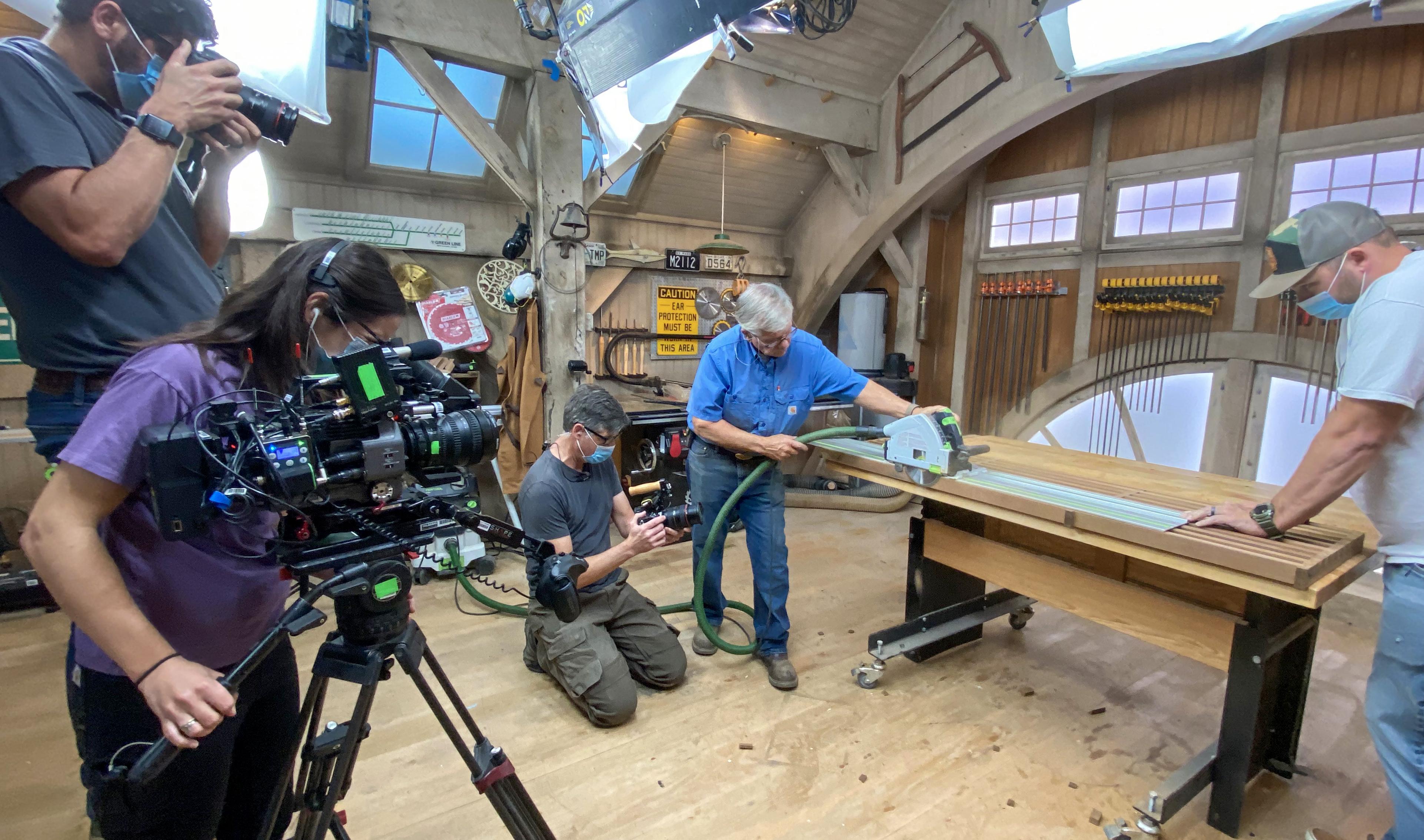 Behind the Scenes Workshop