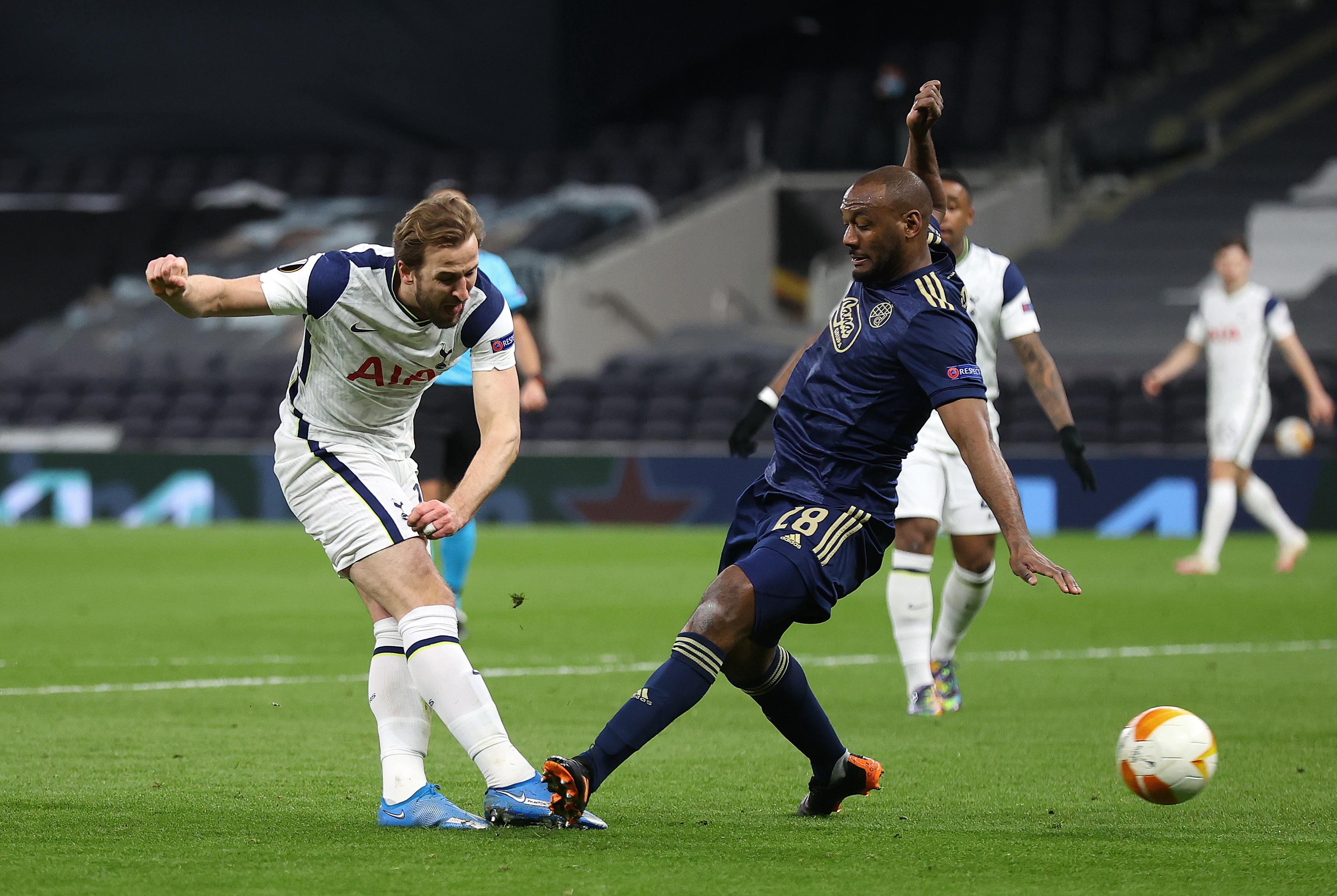 Tottenham Hotspur v Dinamo Zagreb - UEFA Europa League Round Of 16 Leg One
