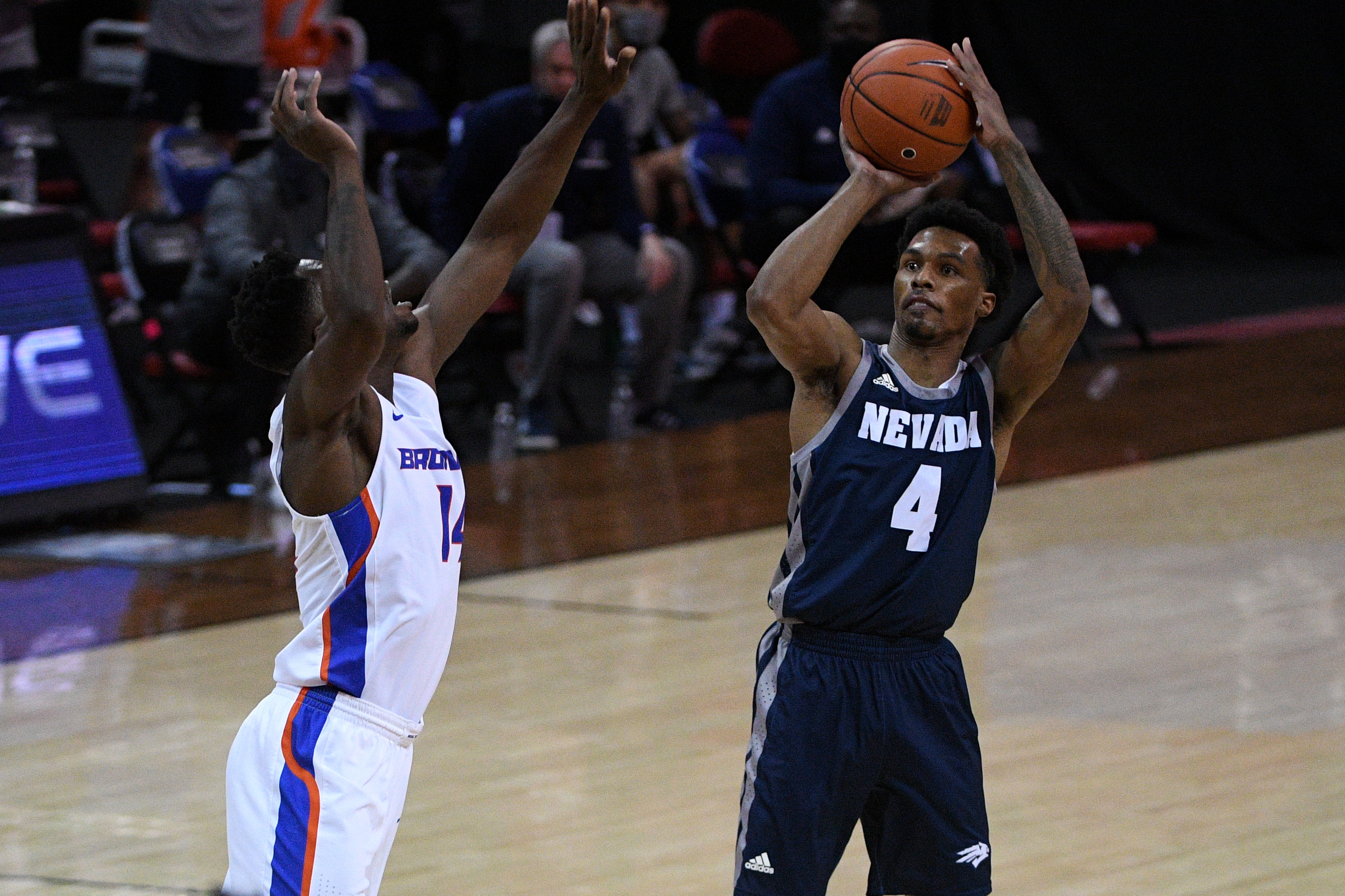 NCAA Basketball: Mountain West Conference Tournament- Nevada vs Boise St.