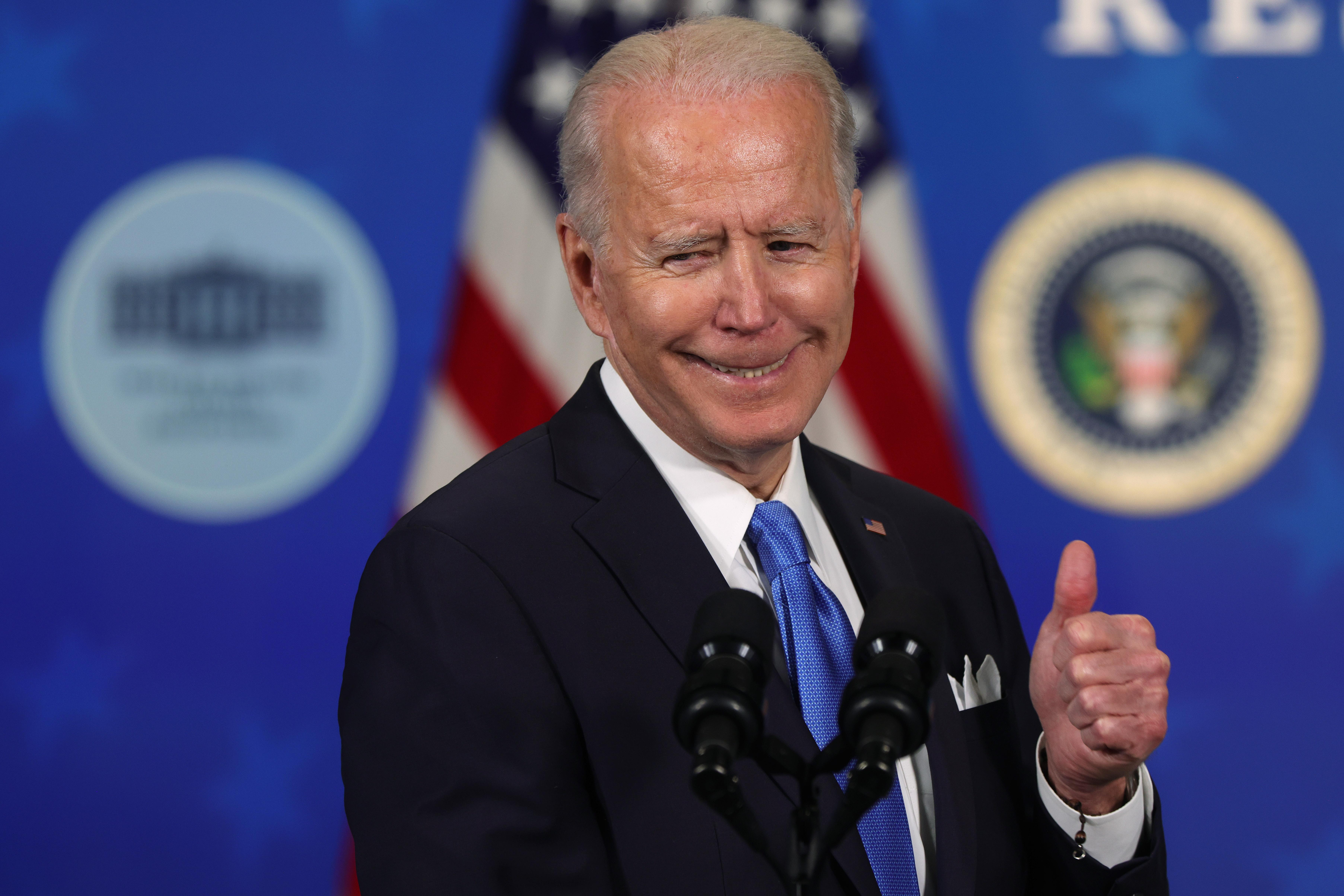 President Biden Hosts Event With Johnson & Johnson And Merck CEOs