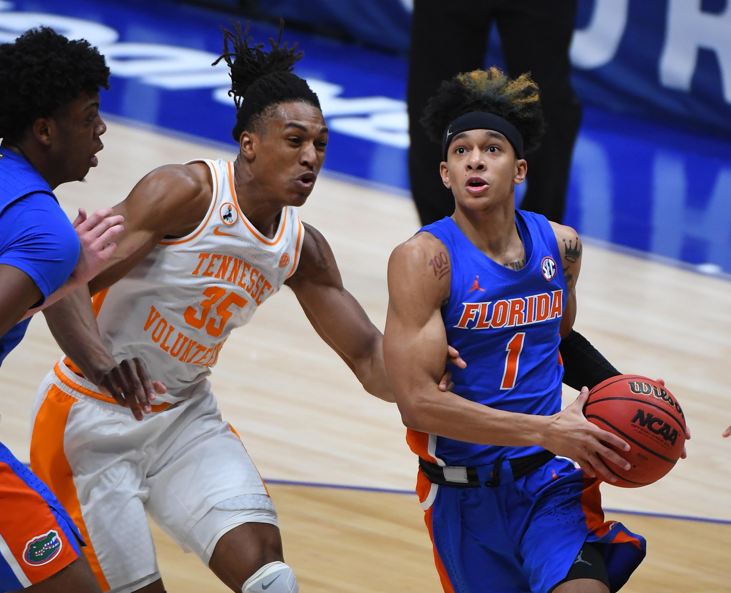 NCAA Basketball: SEC Conference Tournament-Florida vs Tennessee