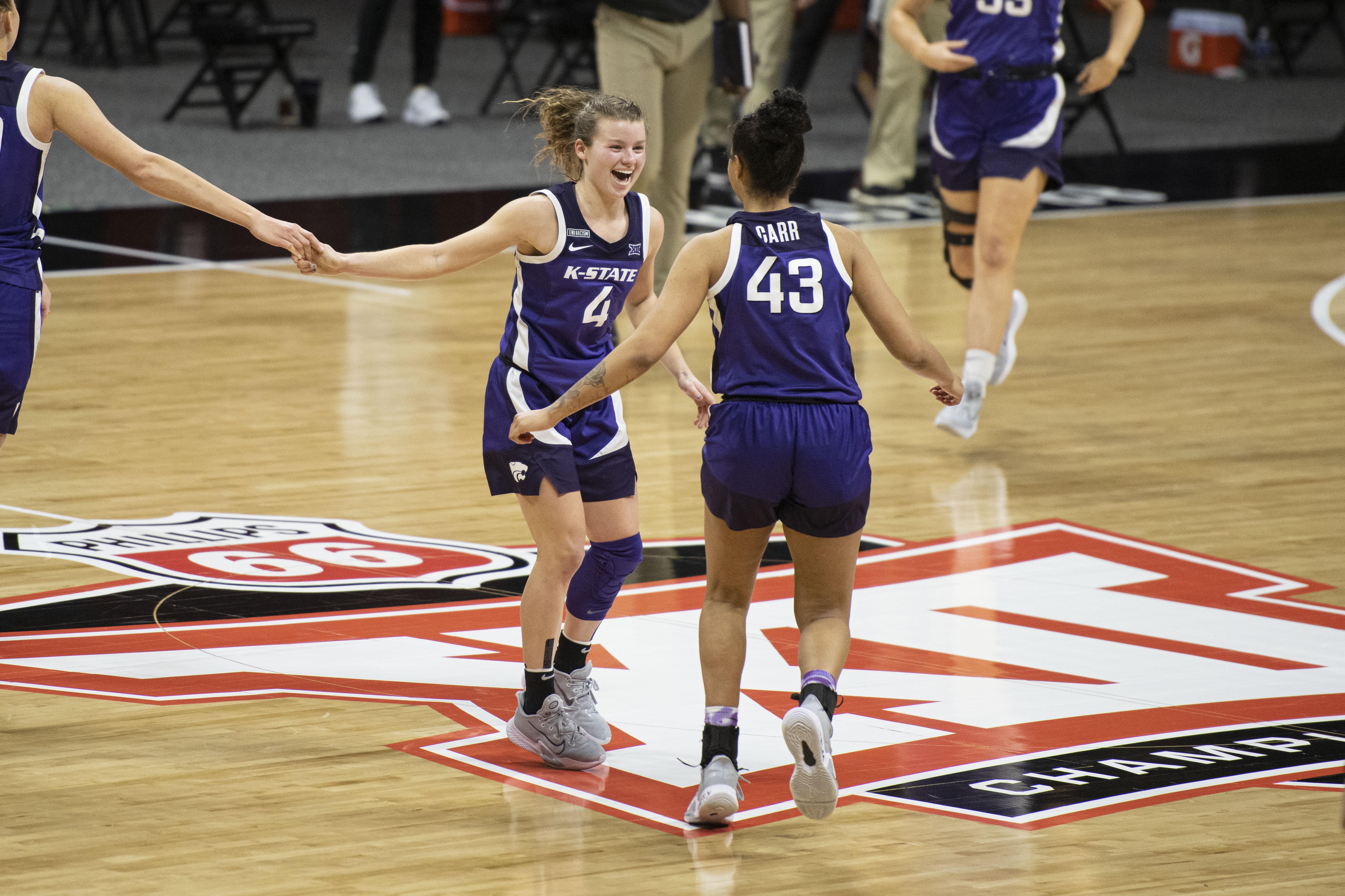 NCAA Womens Basketball: Big 12 Conference Tournament-Texas Tech vs Kansas State
