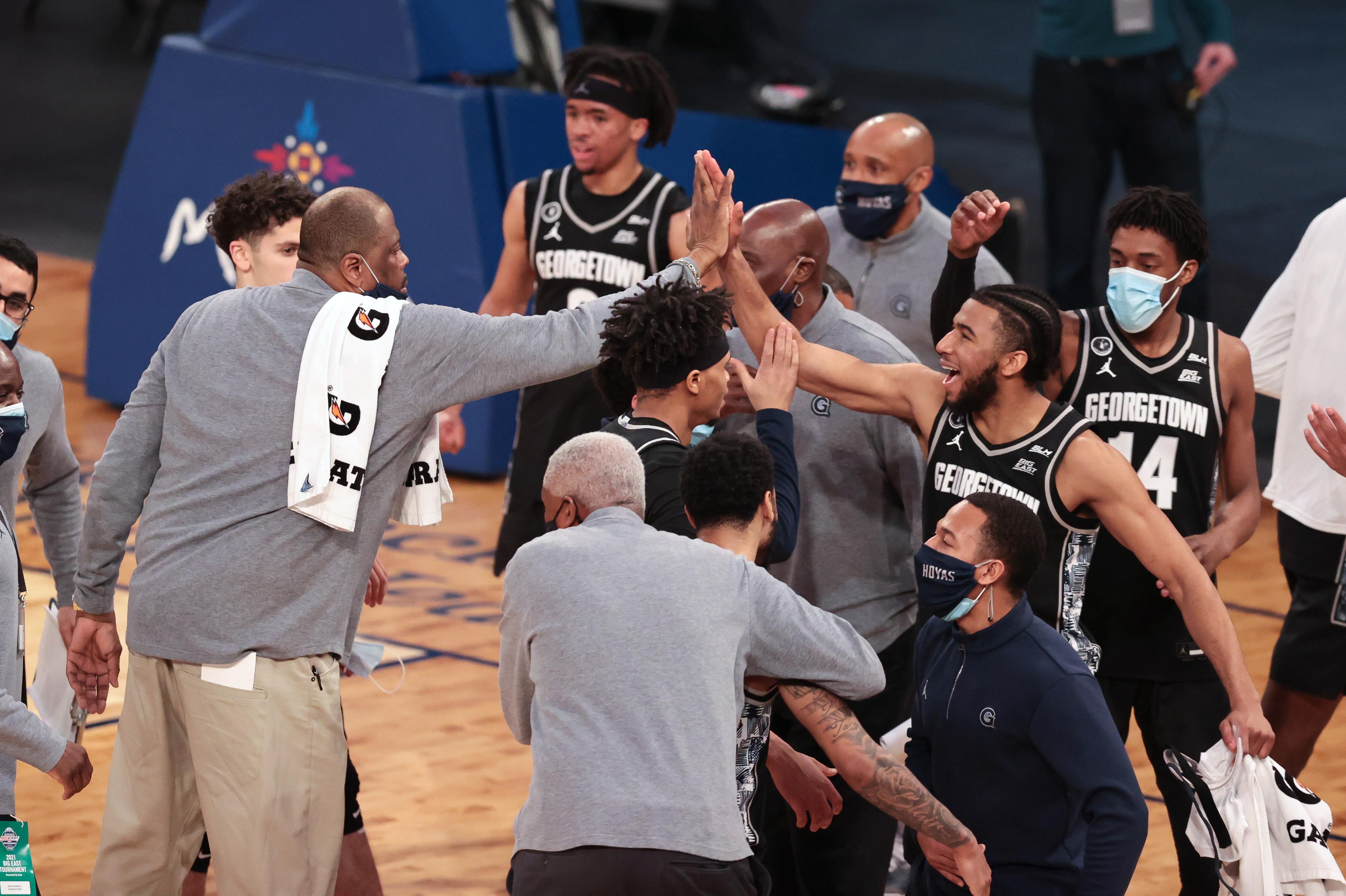 NCAA Basketball: Big East Conference Tournament-Seton Hall vs Georgetown