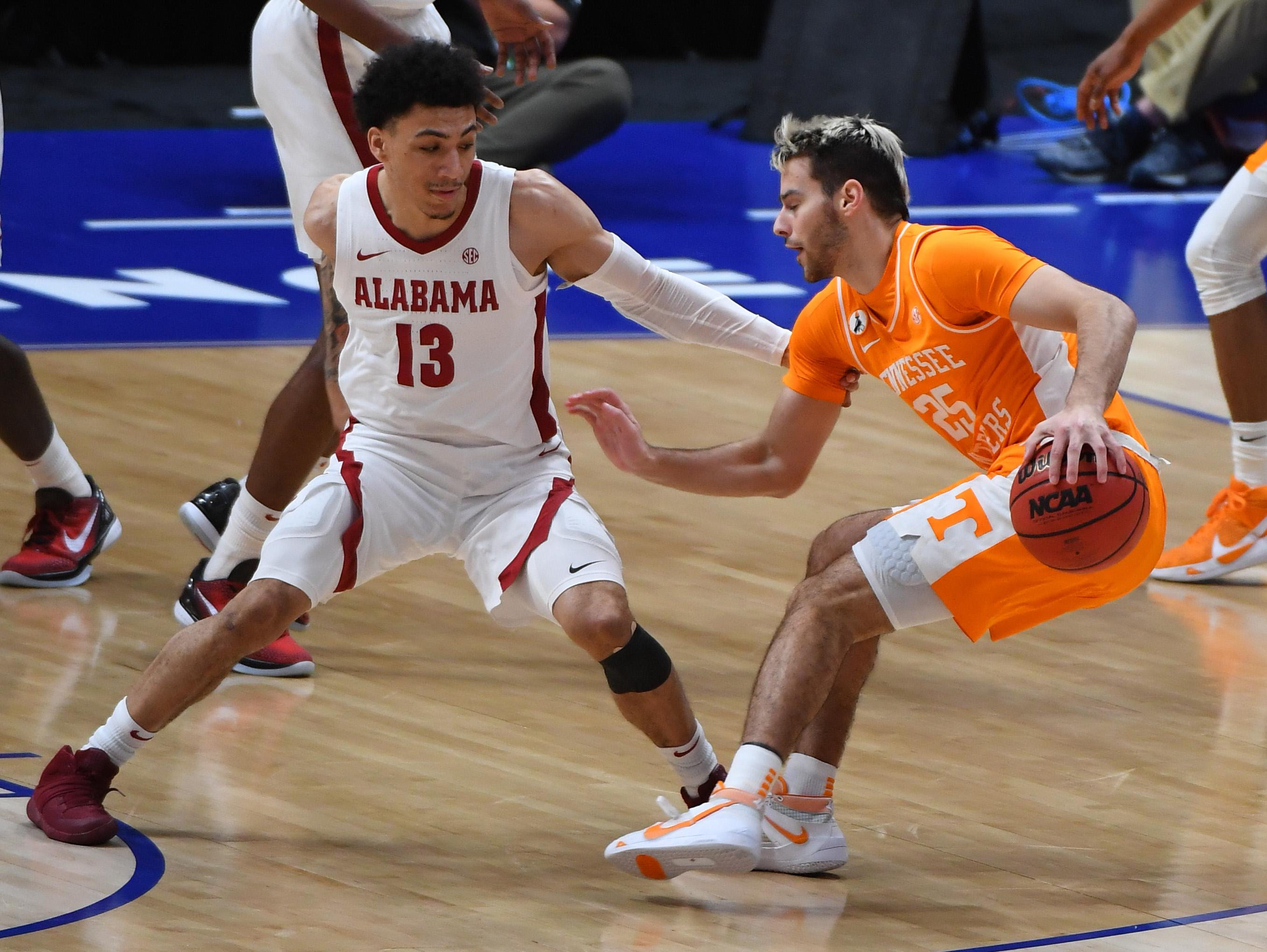 NCAA Basketball: SEC Conference Tournament-Tennessee vs Alabama