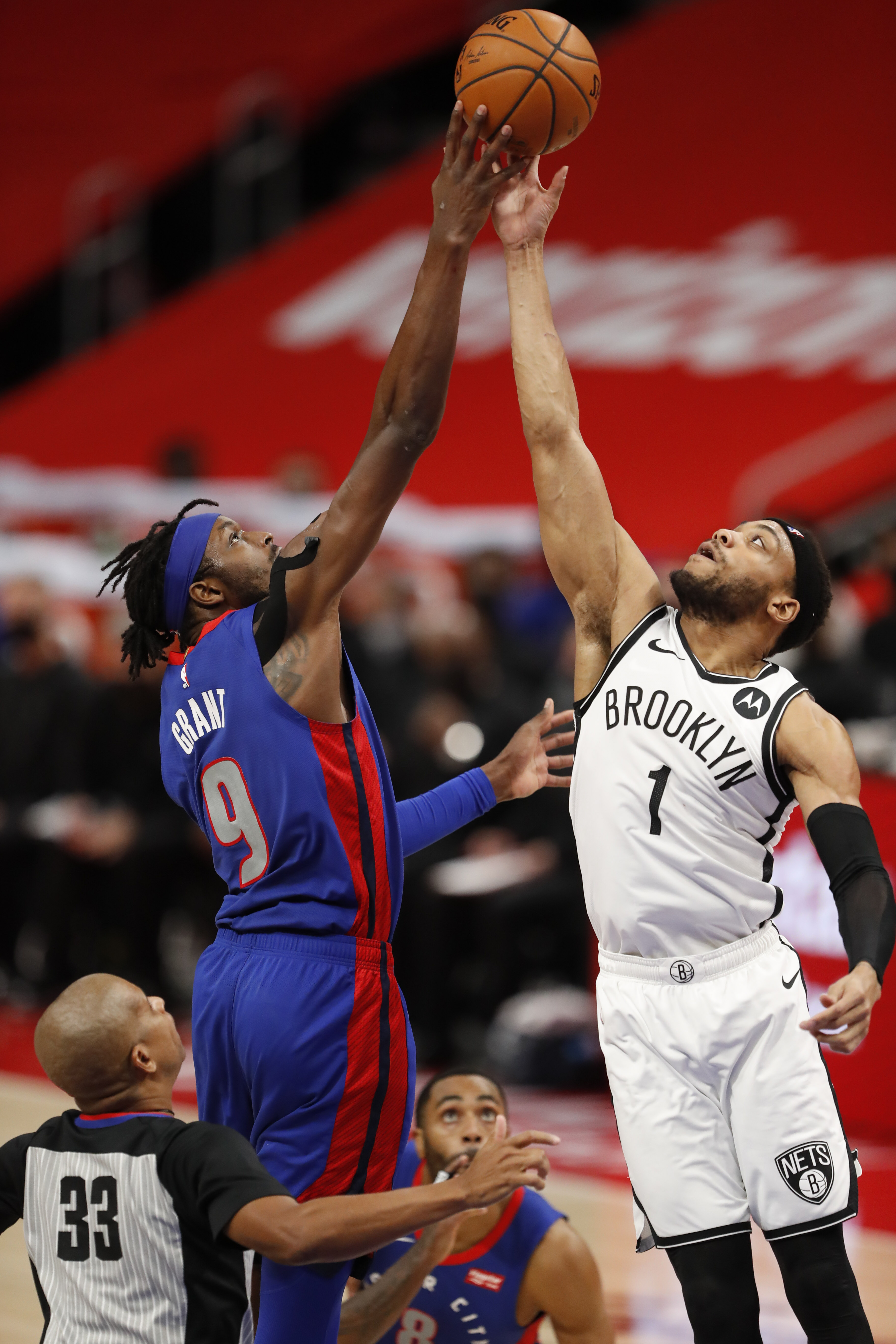NBA: Brooklyn Nets at Detroit Pistons