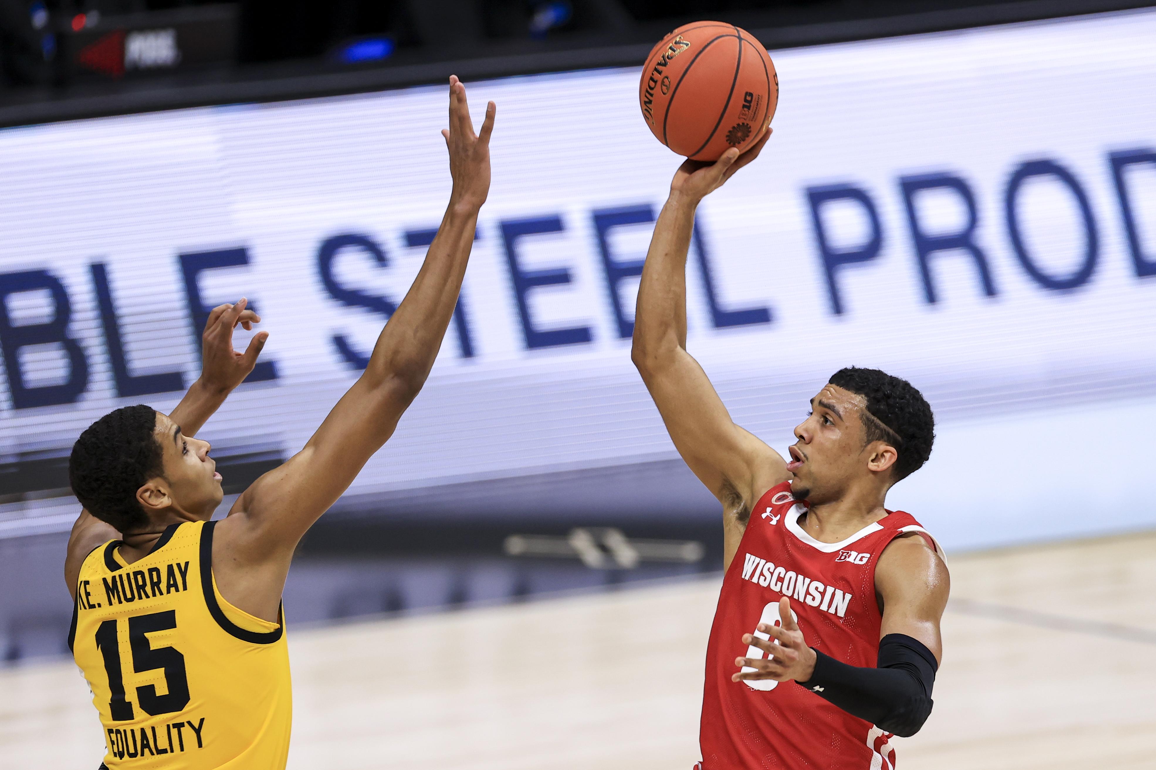 NCAA Basketball: Big Ten Conference Tournament-Wisconsin vs Iowa