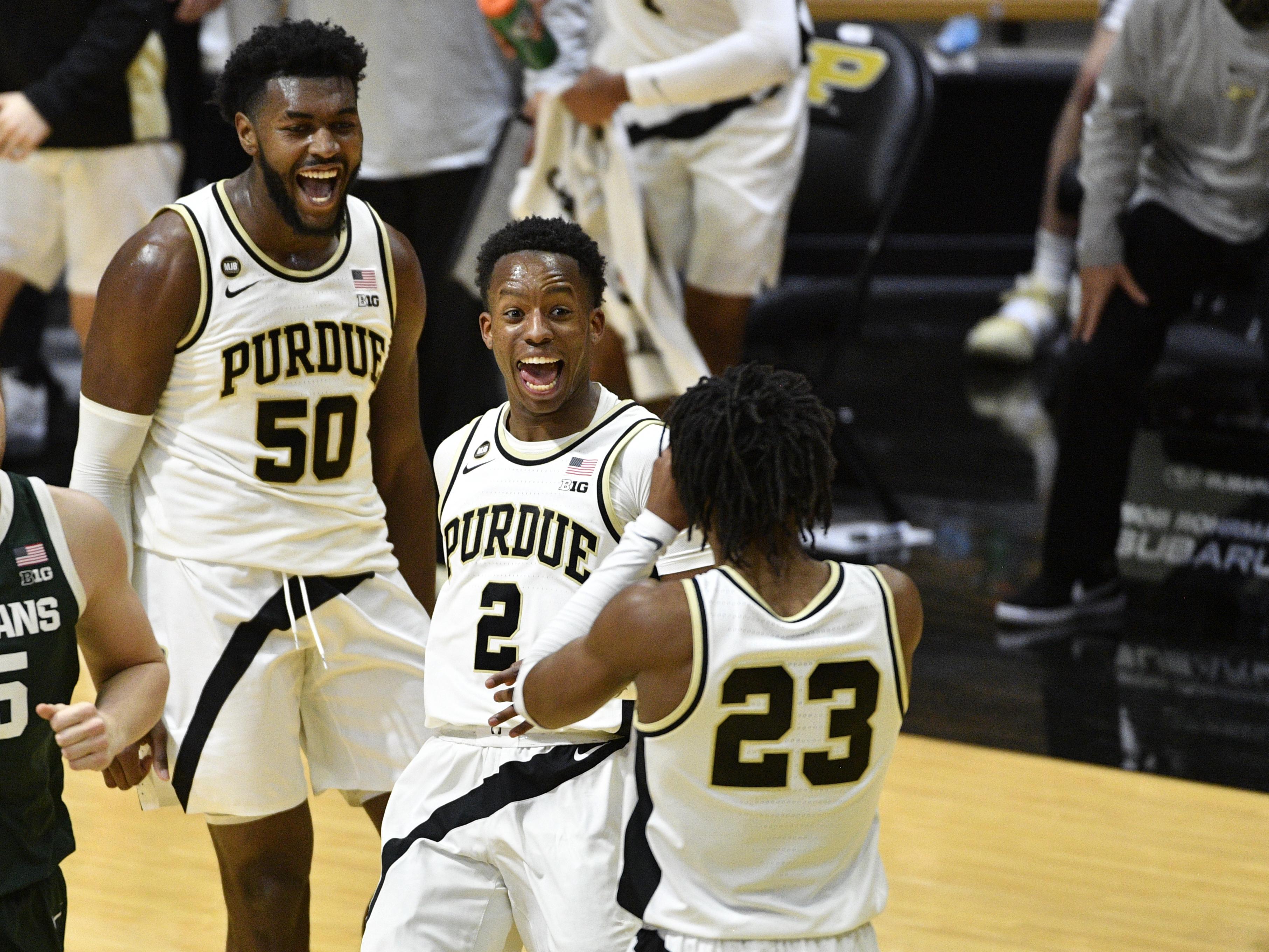 NCAA Basketball: Michigan State at Purdue