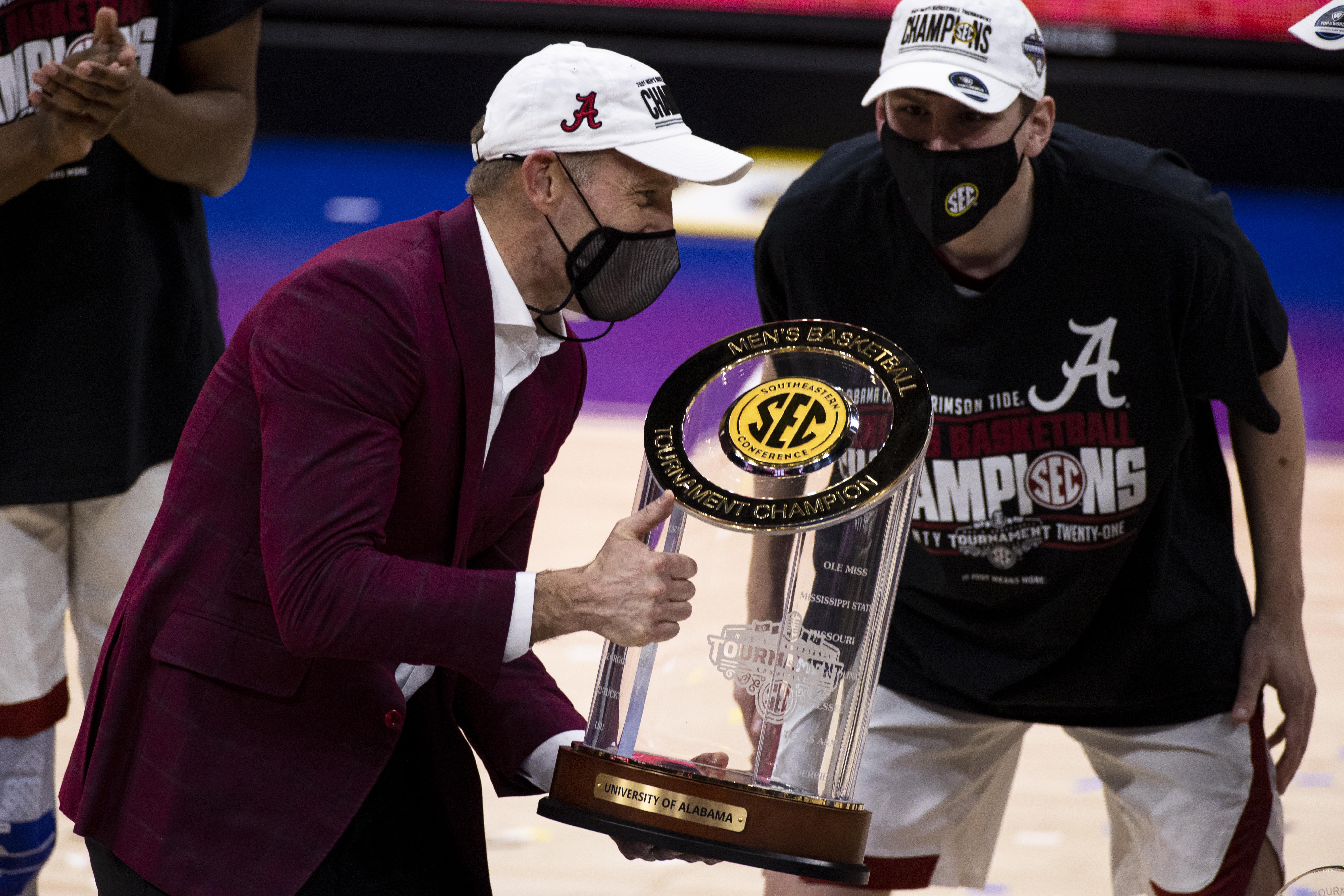 SEC Men's Basketball Tournament - Alabama v LSU
