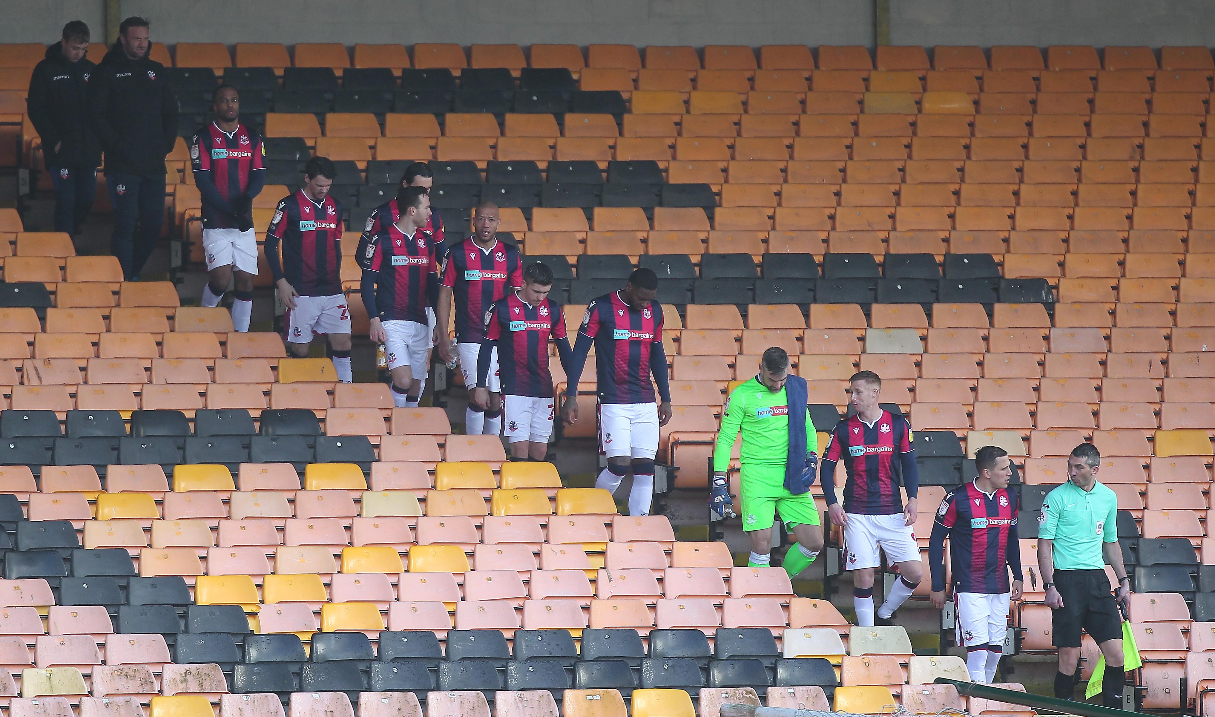 Port Vale v Bolton Wanderers - Sky Bet League Two