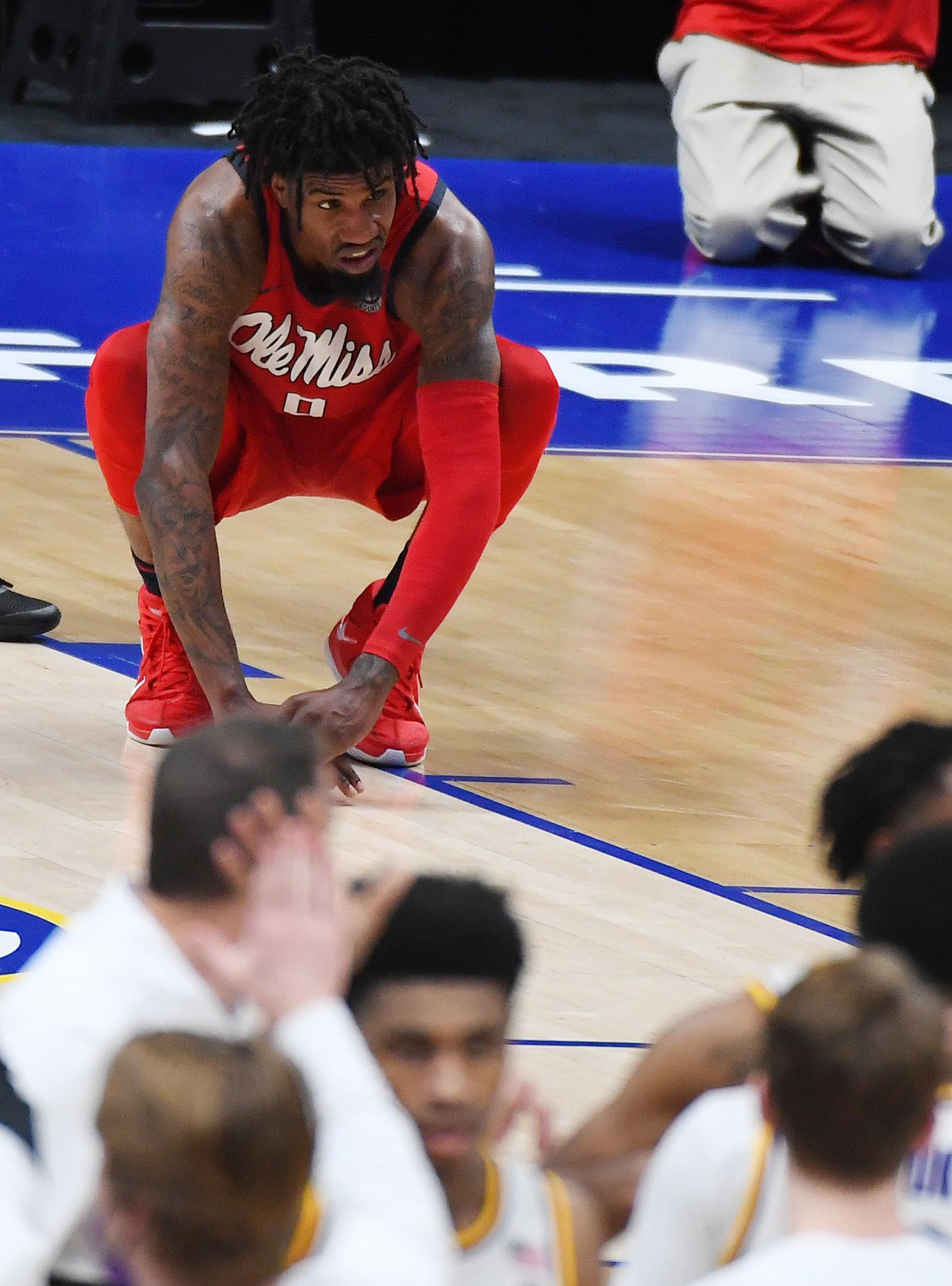 NCAA Basketball: SEC Conference Tournament-Mississippi vs Louisiana State