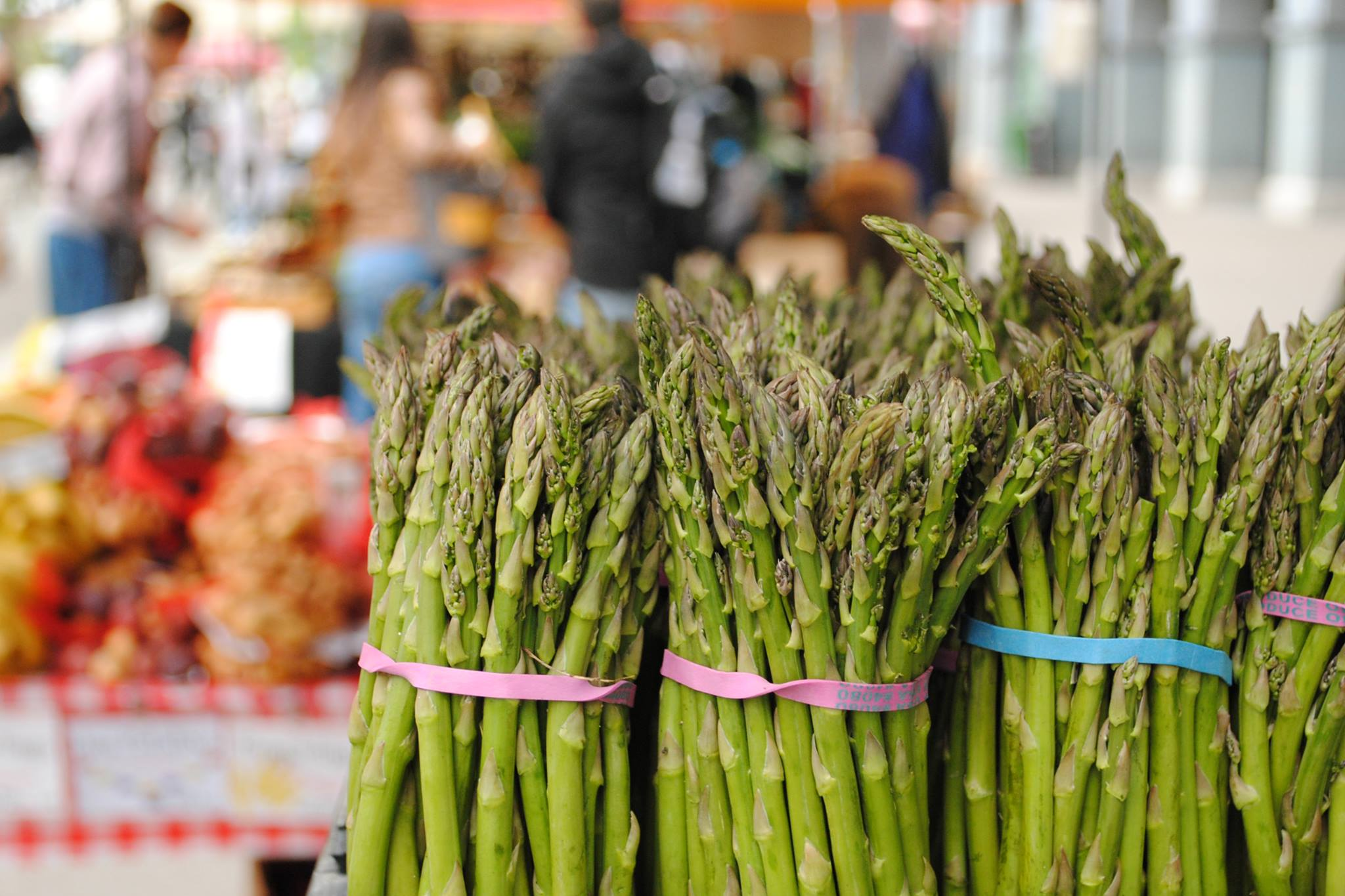 Asparagus at the Ferry Building farmers' market