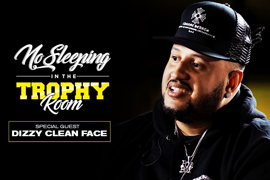 Dizzy Clean Face - 'No Sleeping In The Trophy Room'