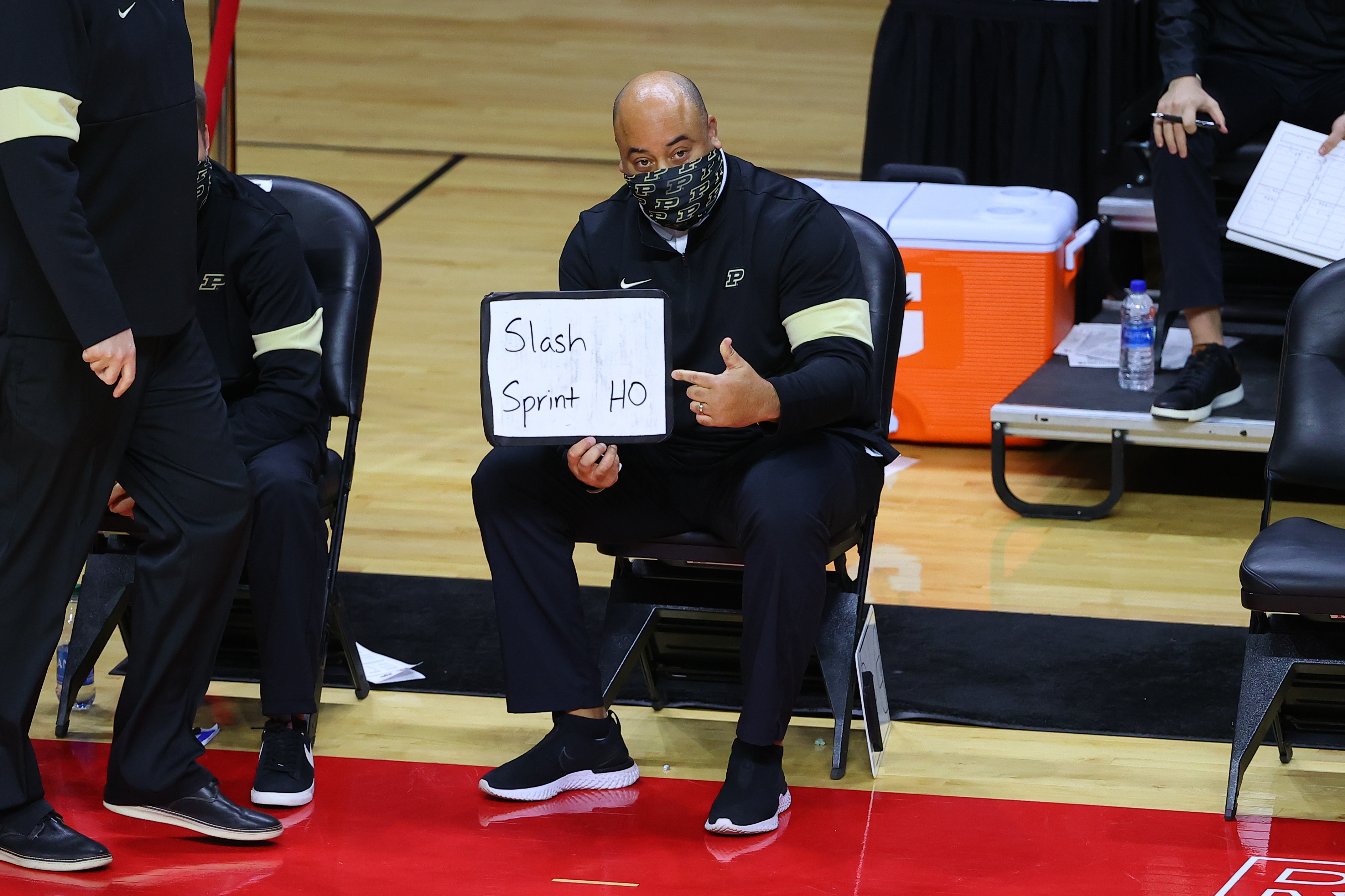COLLEGE BASKETBALL: DEC 29 Purdue at Rutgers