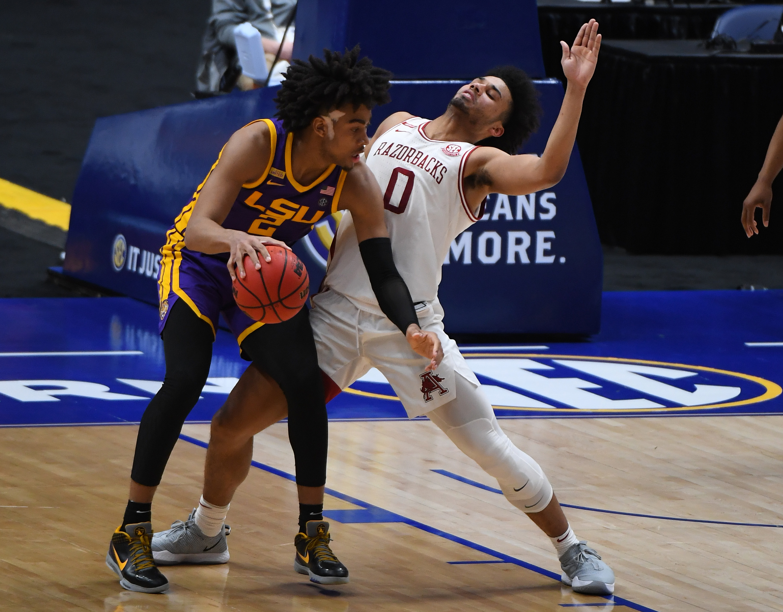 NCAA Basketball: SEC Conference Tournament-Lousiana State vs Arkansas