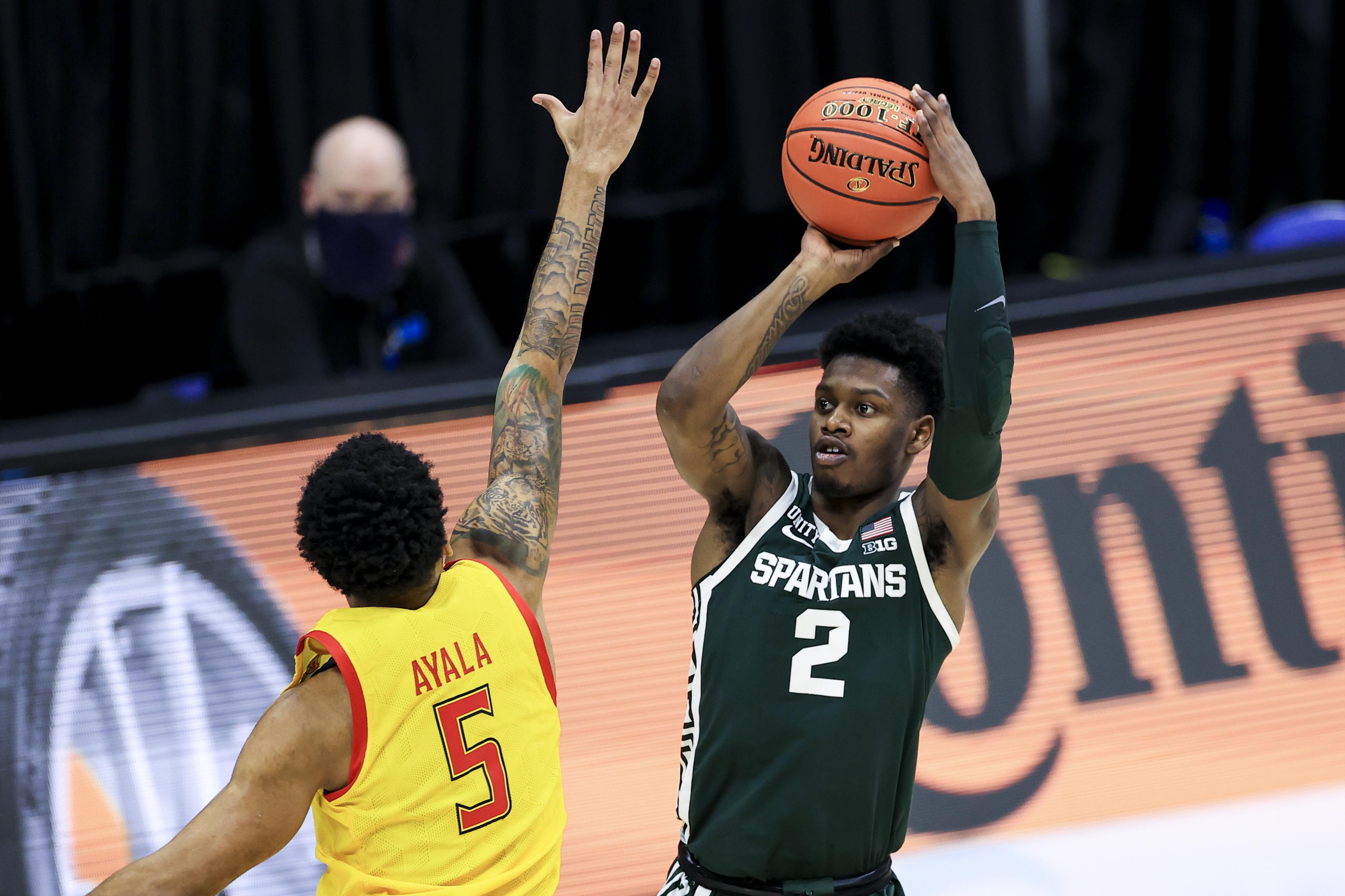 NCAA Basketball: Big Ten Conference Tournament-Michigan State vs Maryland