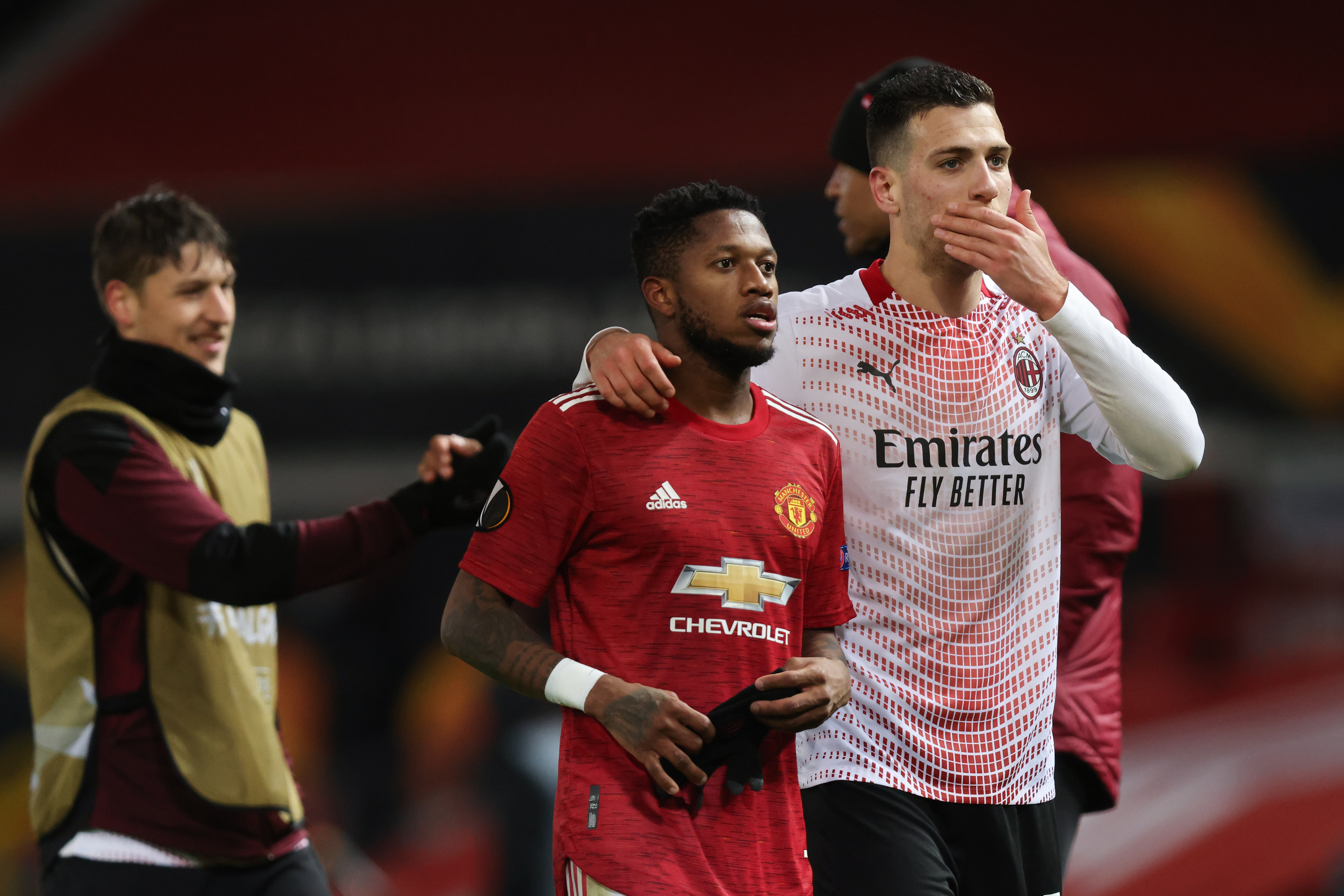 Manchester United v A.C. Milan - UEFA Europa League Round Of 16 Leg One