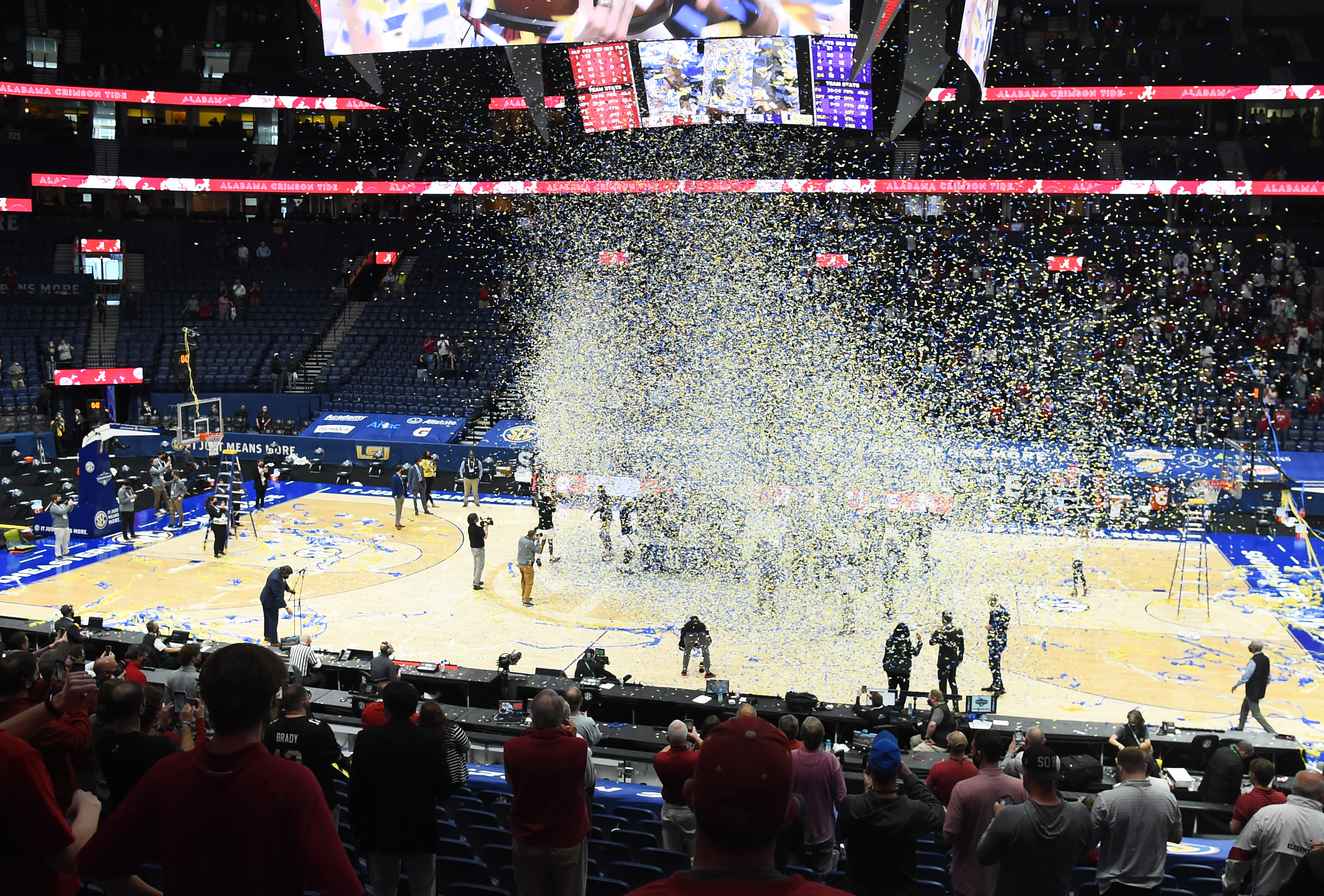 NCAA Basketball: SEC Conference Tournament-Lousiana State vs Alabama