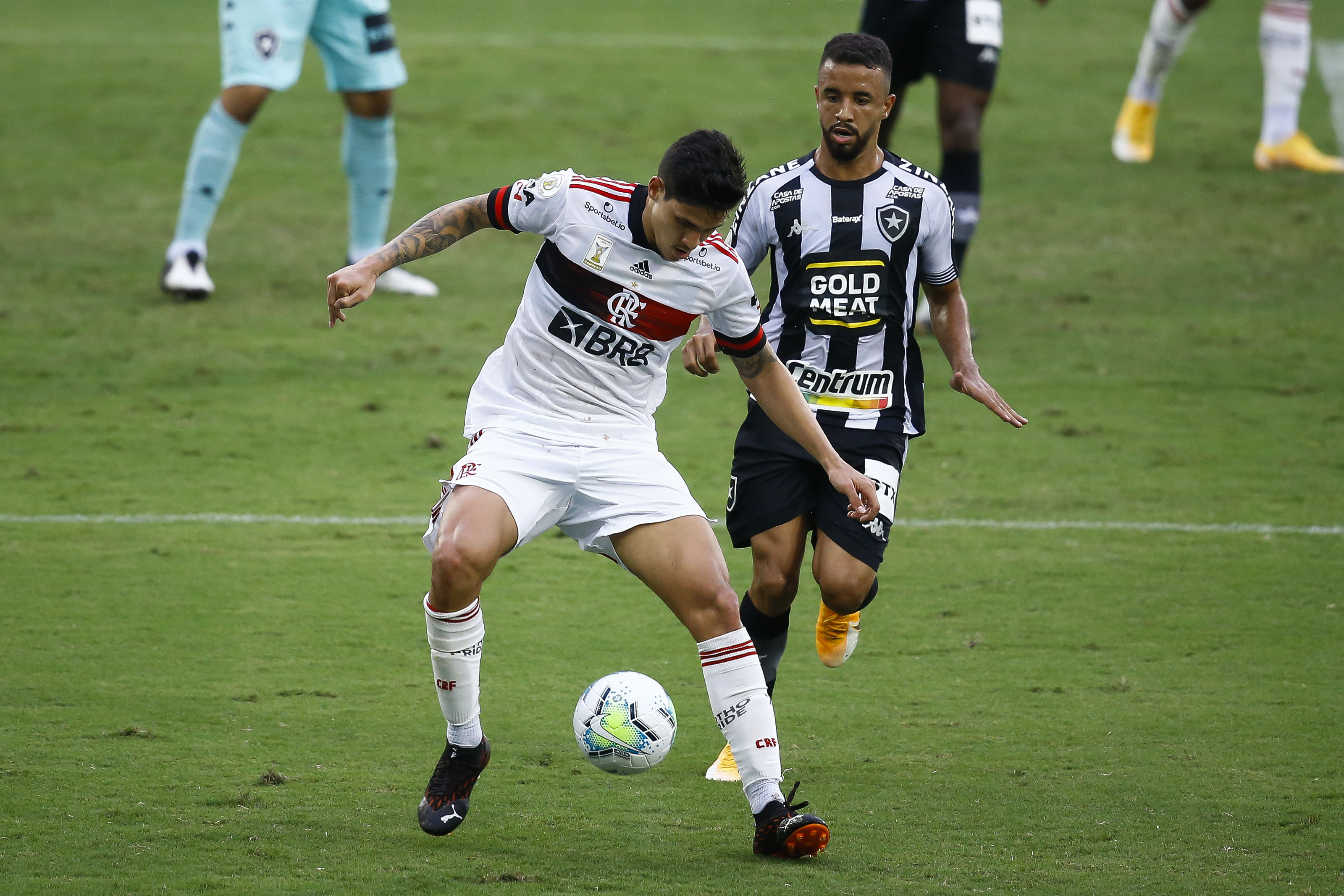 2020 Brasileirao Series A: Botafogo v Flamengo Play Behind Closed Doors Amidst the Coronavirus (COVID - 19) Pandemic
