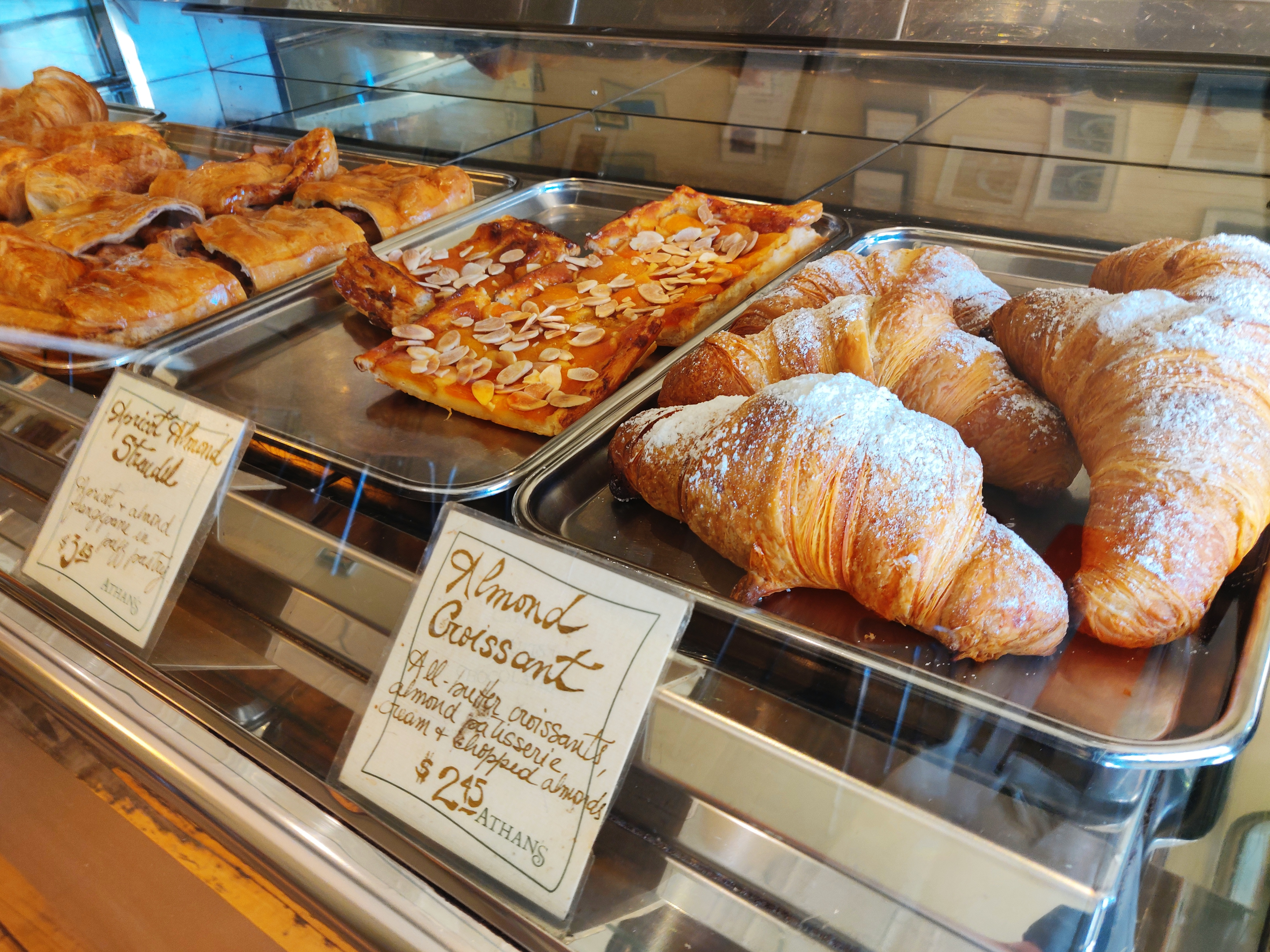 Pastries at Athan's Bakery in Brighton