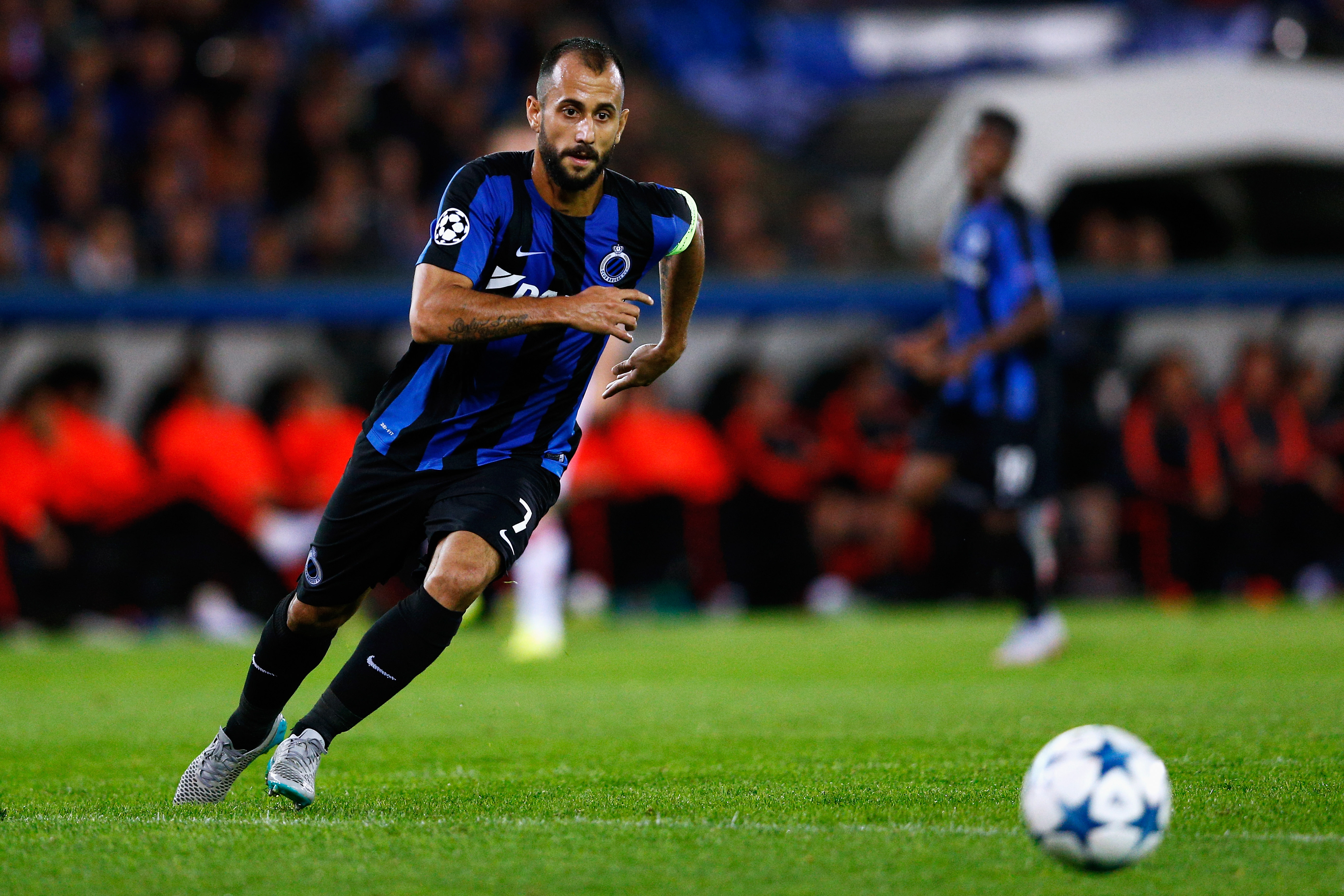 Club Brugge v Manchester United - UEFA Champions League: Qualifying Round Play Off Second Leg