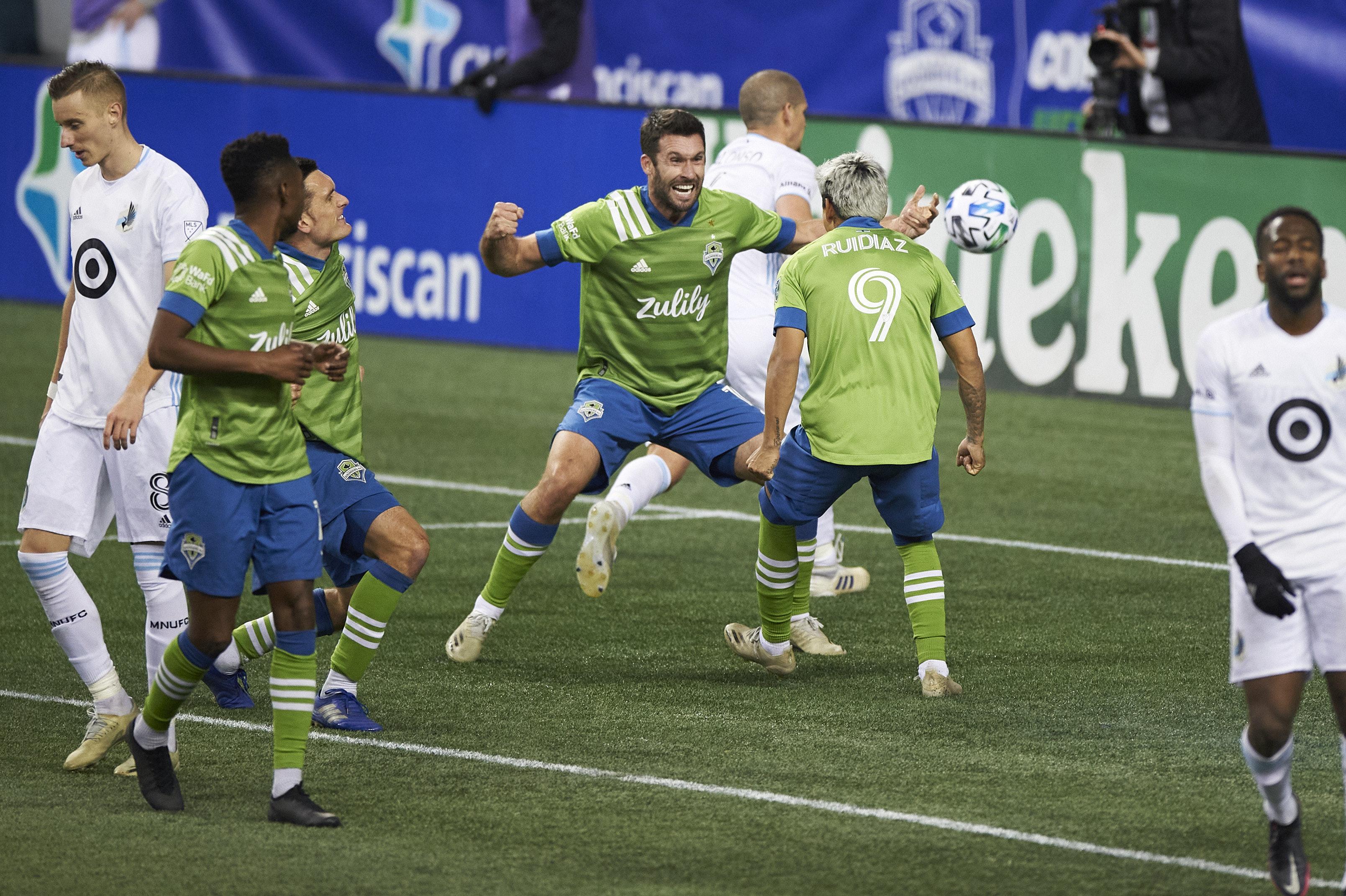 MLS:明尼苏达州联合FC在西雅图探测器FC