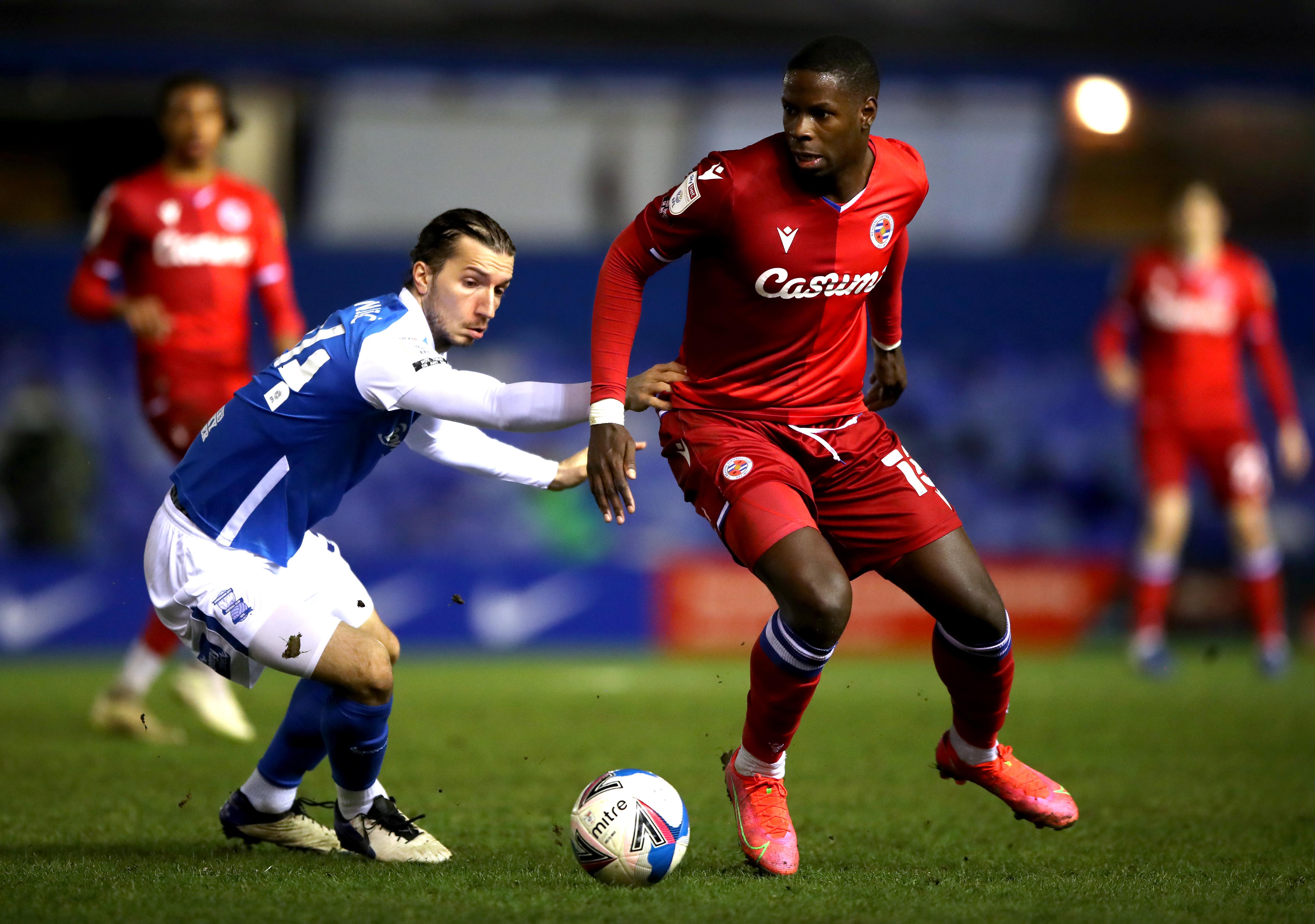 Birmingham City v Reading - Sky Bet Championship - St Andrew's Trillion Trophy Stadium