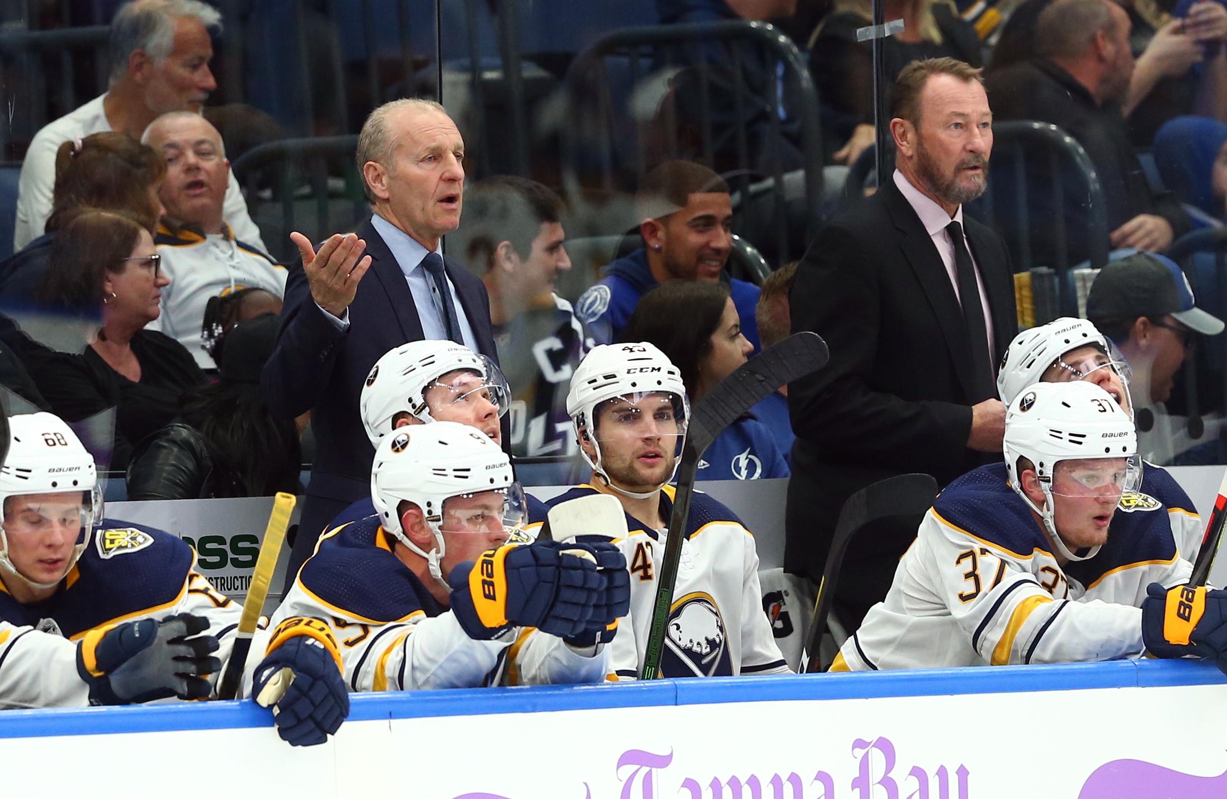 NHL: Buffalo Sabres at Tampa Bay Lightning