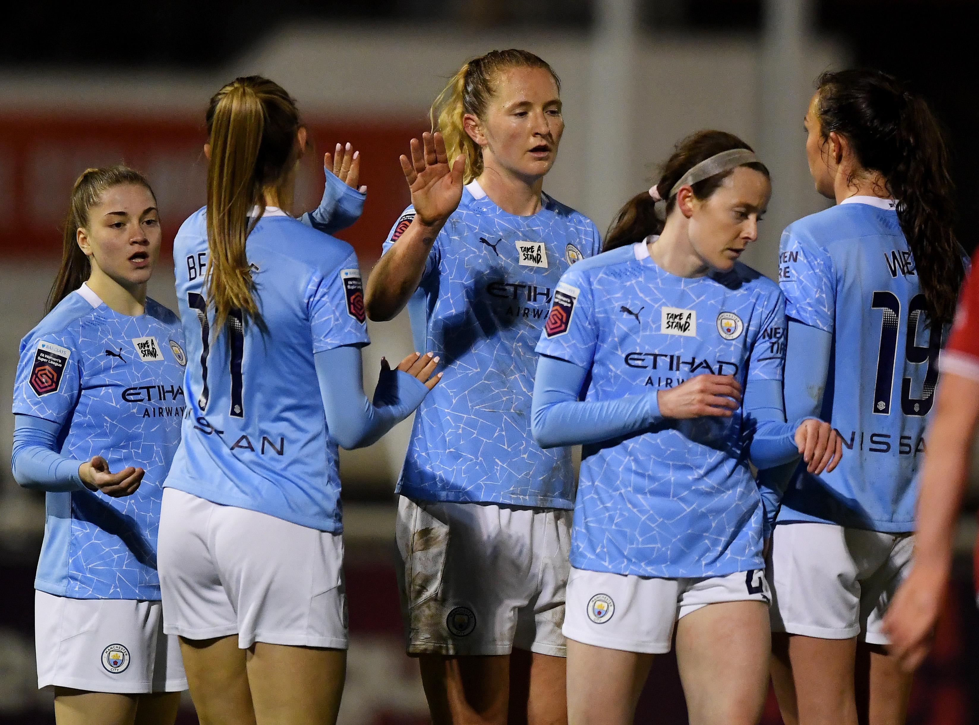 Bristol City Women v Manchester City Women - Barclays FA Women's Super League