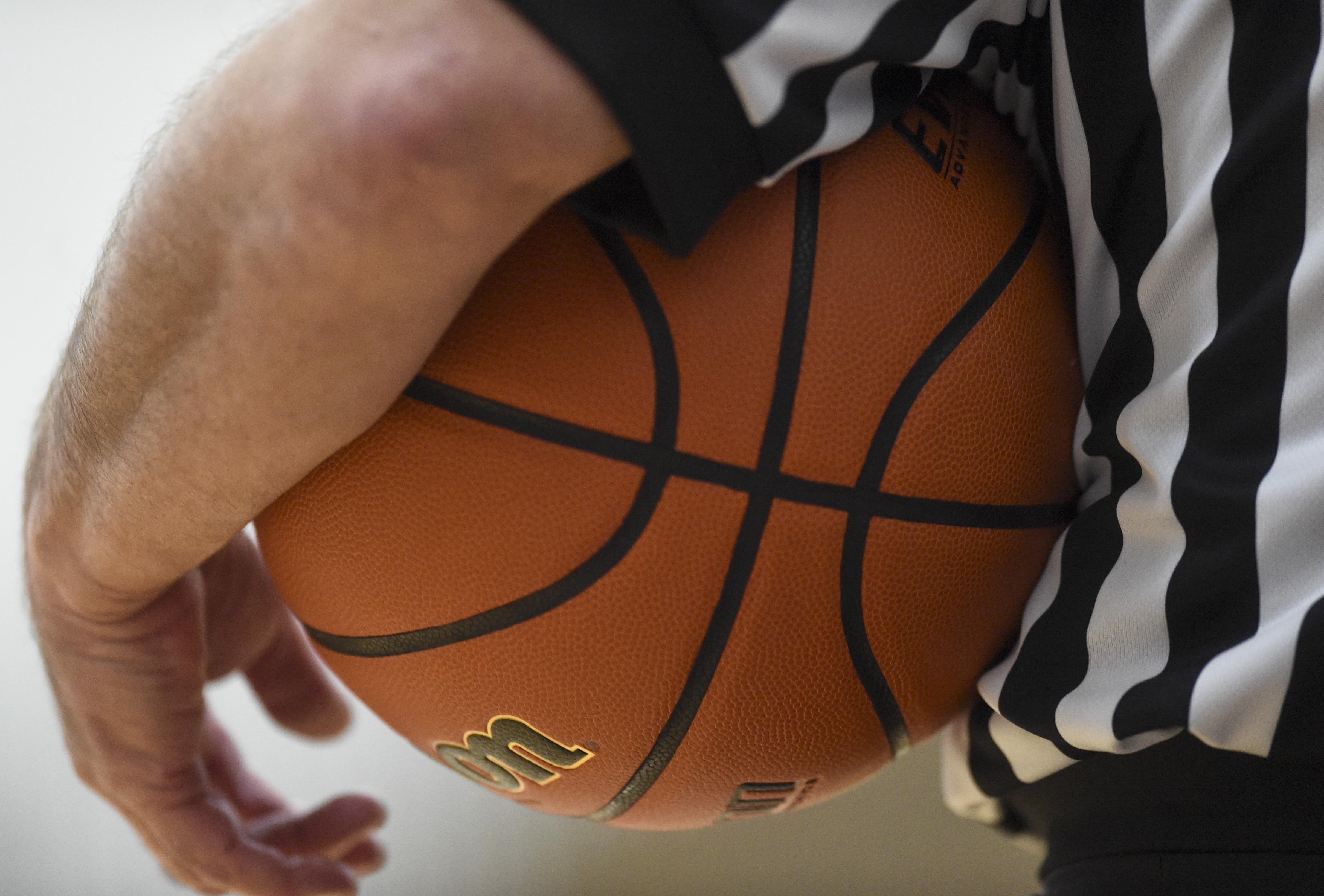 High School Basketball Game In Pennsylvania With Precautions Against COVID-19
