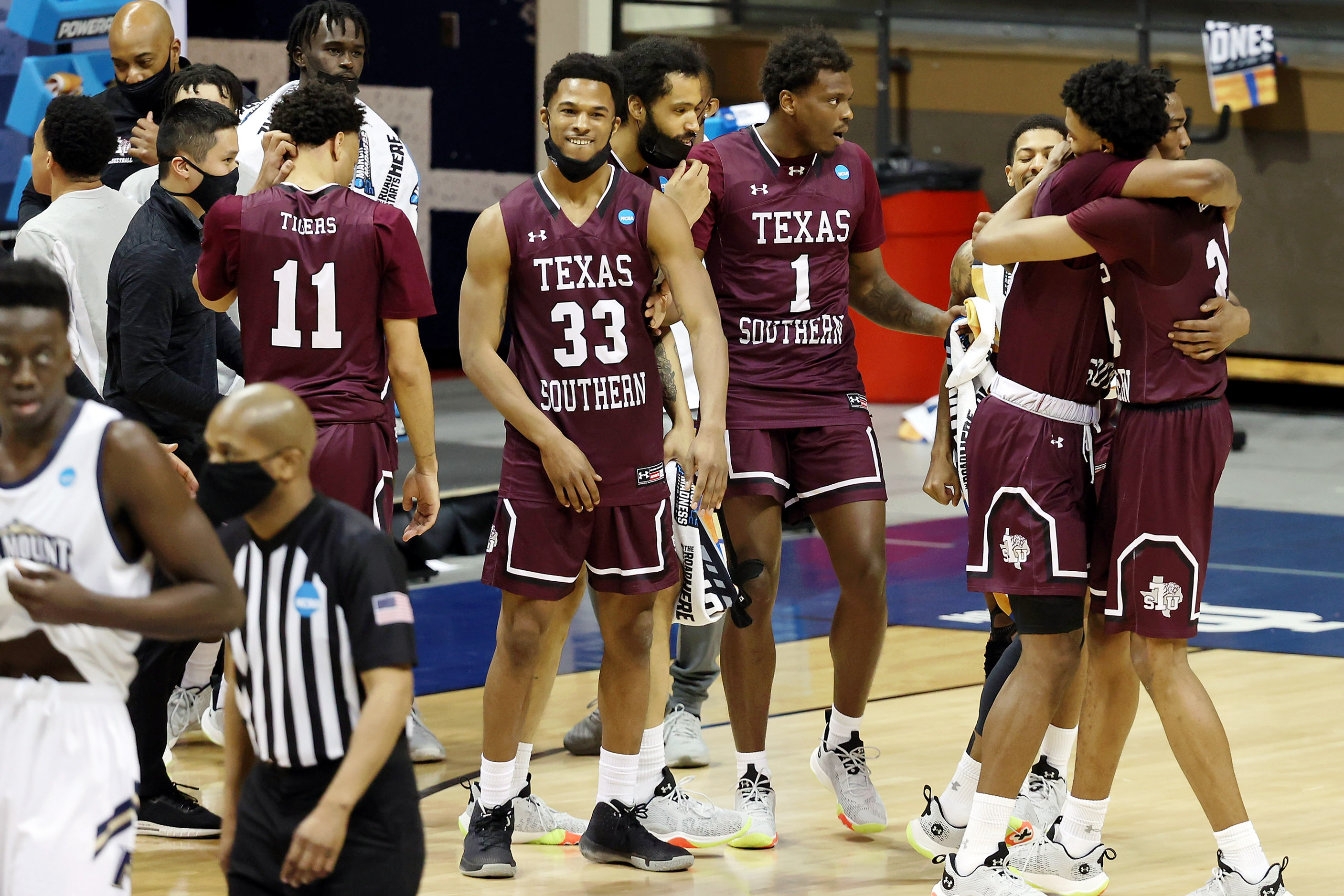 NCAA Basketball: NCAA Tournament-Texas Southern at Mount St. Mary's