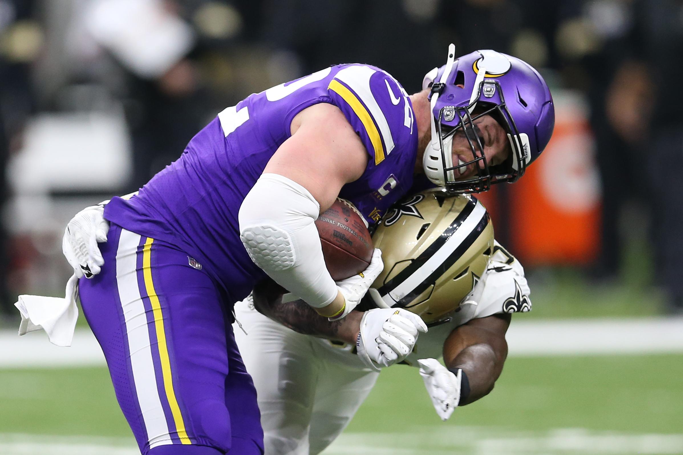 NFL: NFC Wild Card-Minnesota Vikings at New Orleans Saints