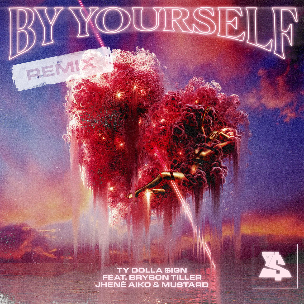 Ty Dolla Sign's 'By Yourself (Remix)' artwork