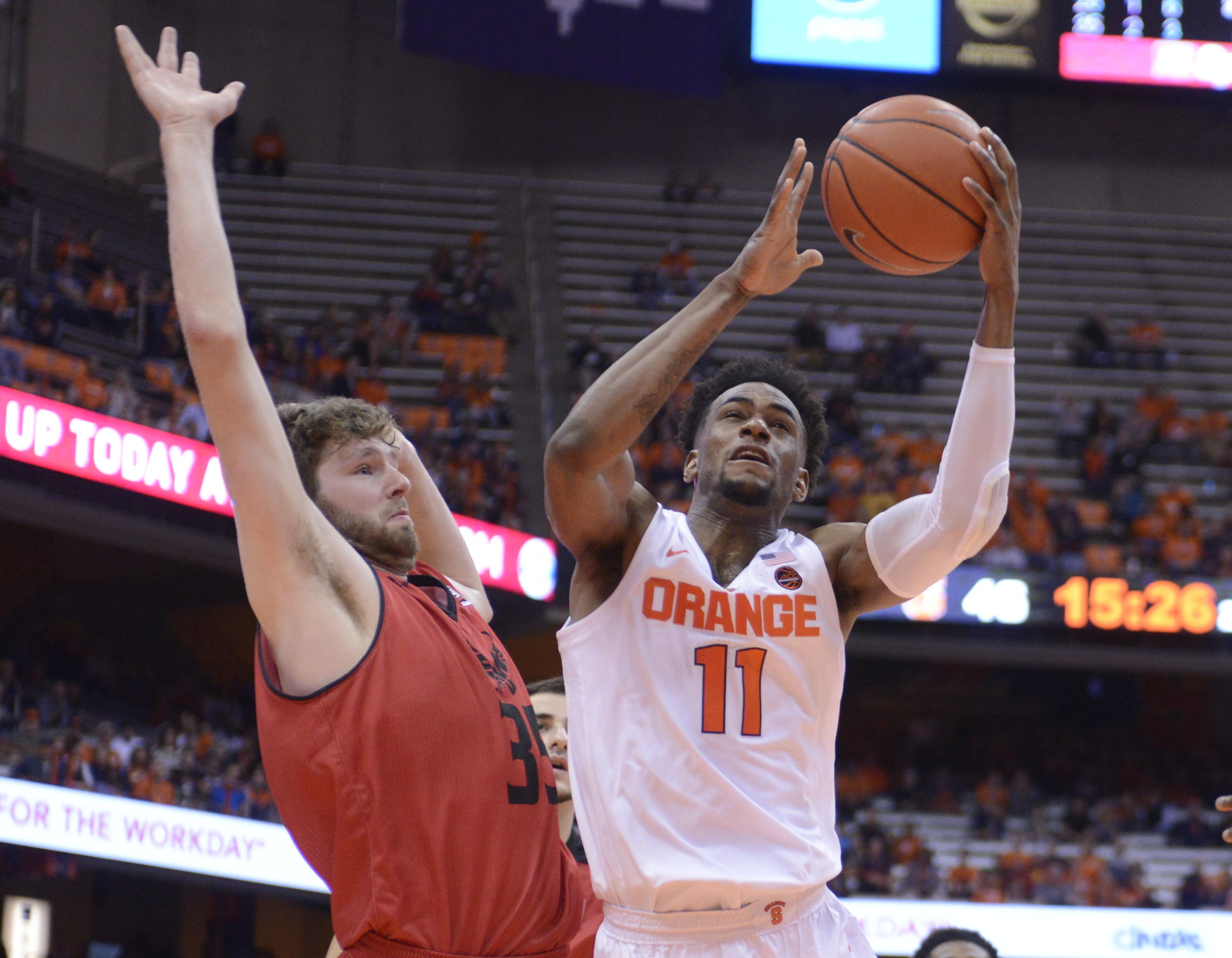 NCAA Basketball: Eastern Washington at Syracuse