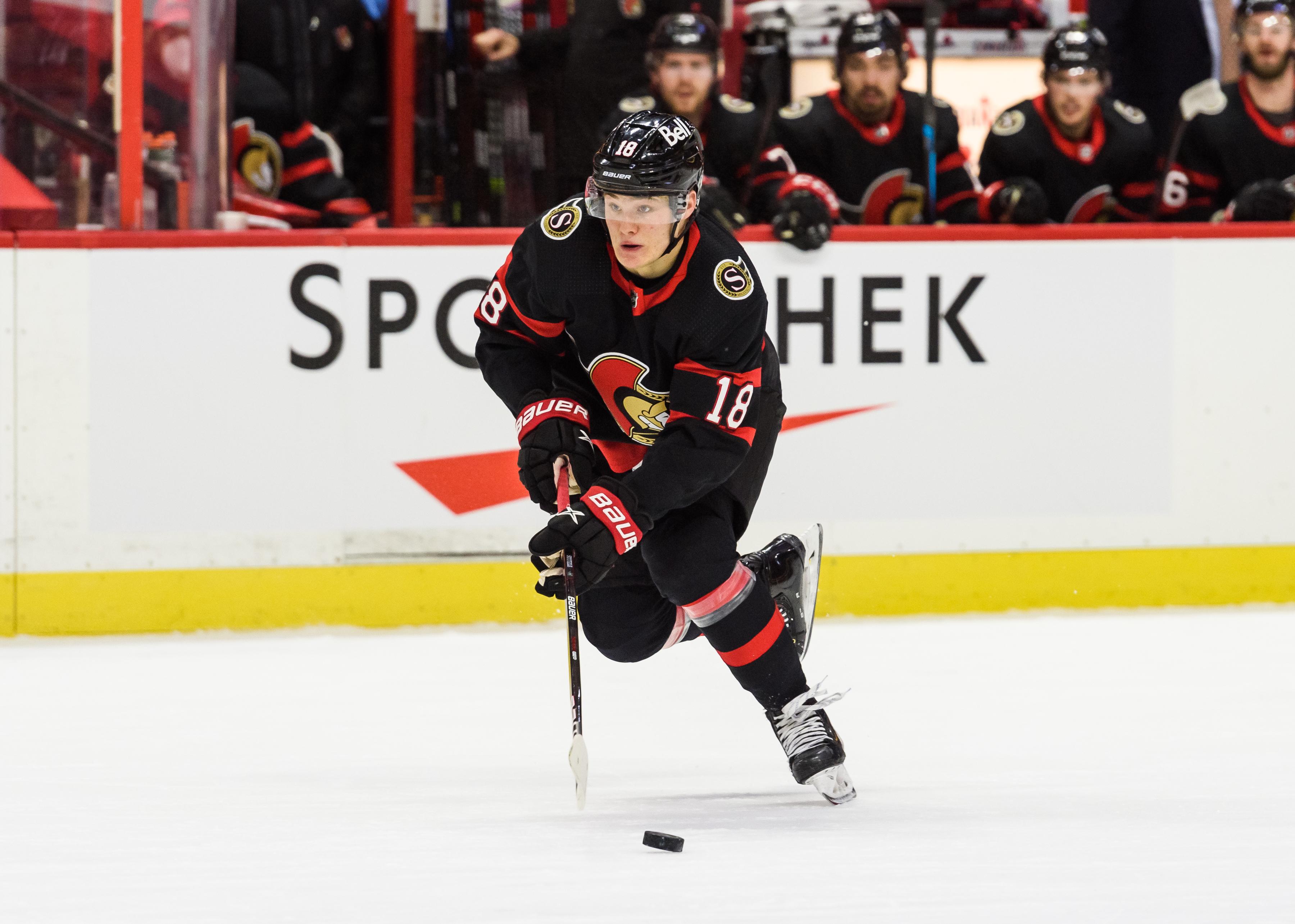 NHL: MAR 15 CANUCKS AT SENATORS